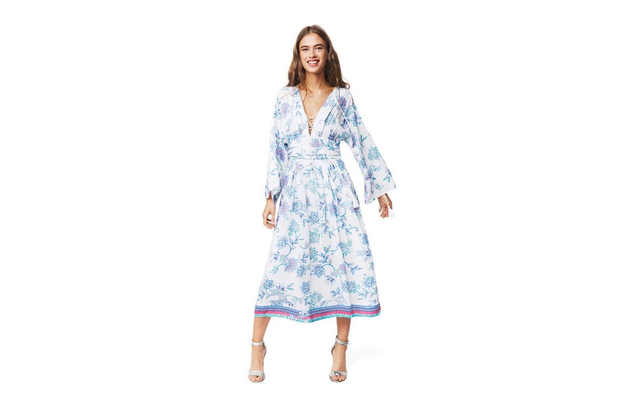 100 Coton Intérieure By Dress Équipement Bay Malina Selah Blue Doublure YAqqaZ08O