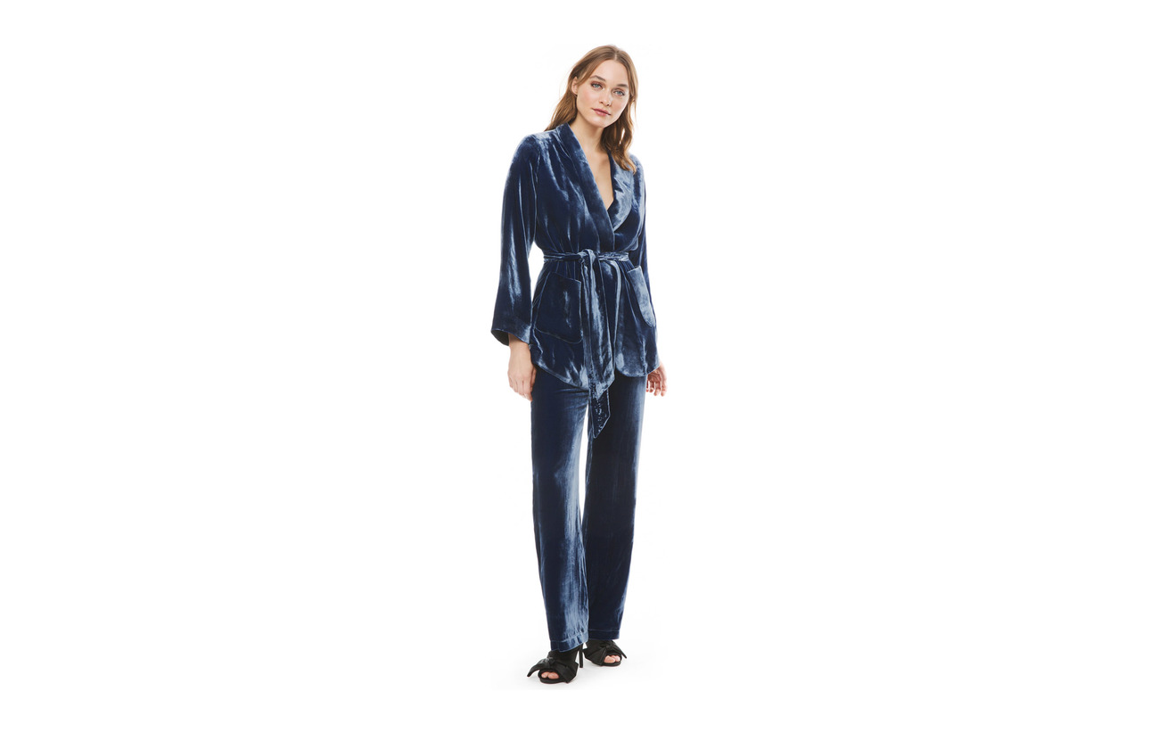 Ella 21 Blue 79 By Dove Soie Intérieure Mulberry Rayonne Malina 100 Polyester Pants Équipement Doublure 7qwI5v