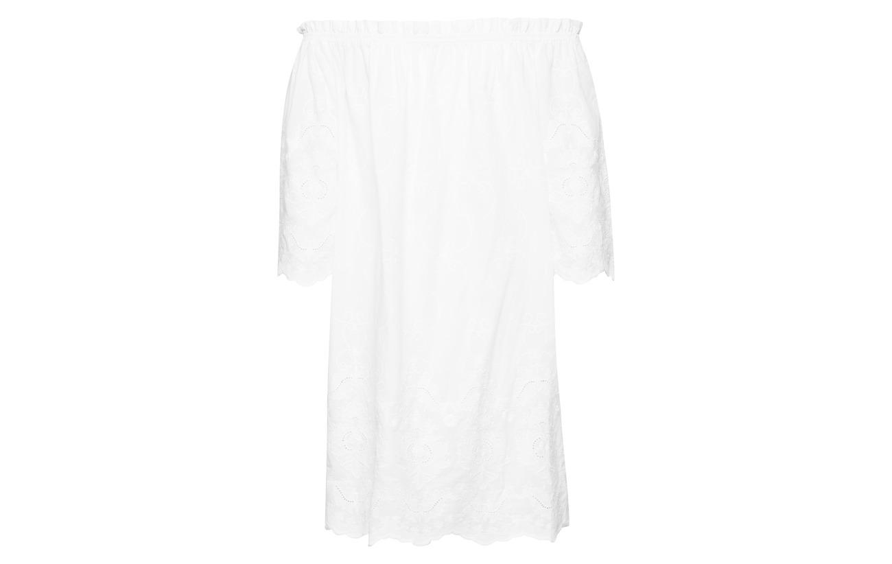 Coton 100 Beach Dress By Malina Piper White XEvxYAqwY