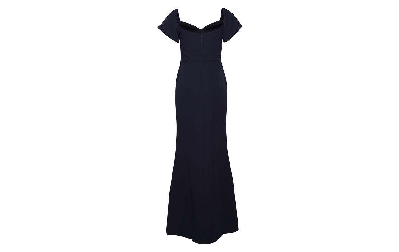 Dress Intérieure 100 Doublure Maxi Polyester Elastane Équipement 3 Jess Dark Blue Polyester Malina By 97 gqwCFF