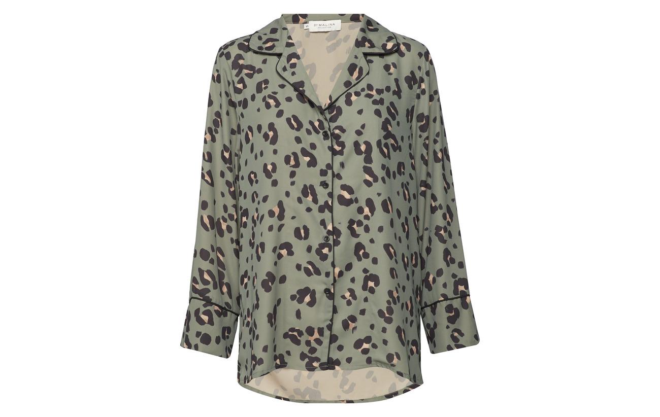 Wild Polyester Shirt By Leo Malina Équipement 100 Valeria w0Zqt0B