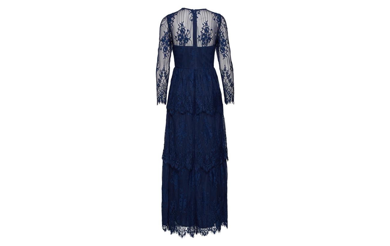 Équipement Malina By Annie Dress Polyester Blue Elastane Maxi 3 Doublure Intérieure Dark 97 100 Polyester 7qfdaqxrw