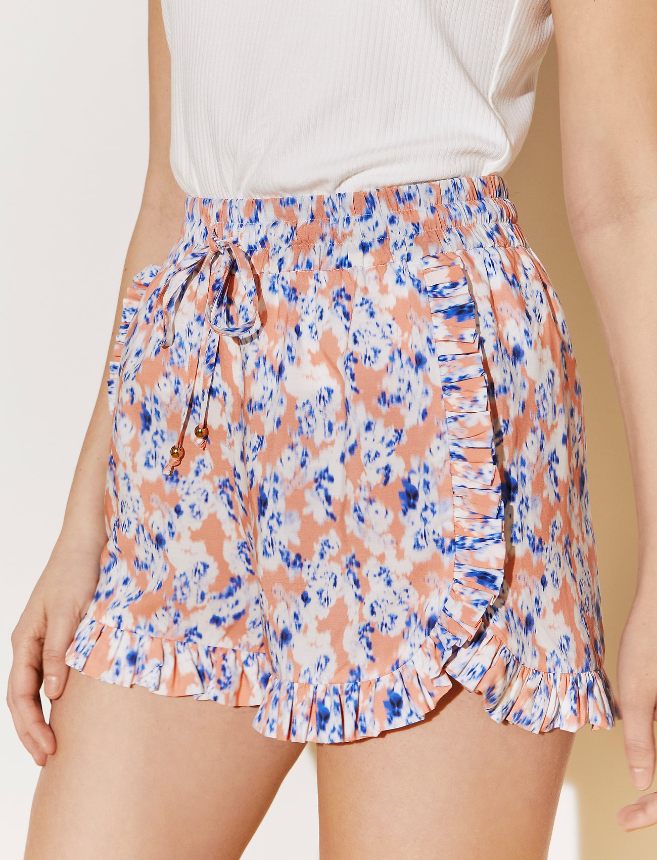 By Malina - Leona shorts - shorts casual - watercolor - 0