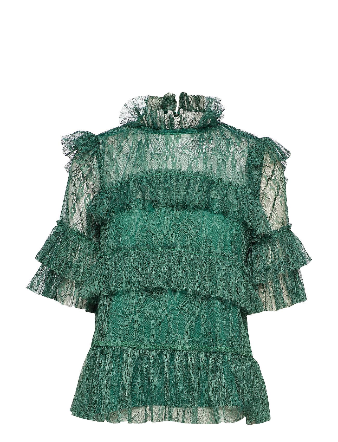 By Malina Rachel blouse - BASIL GREEN