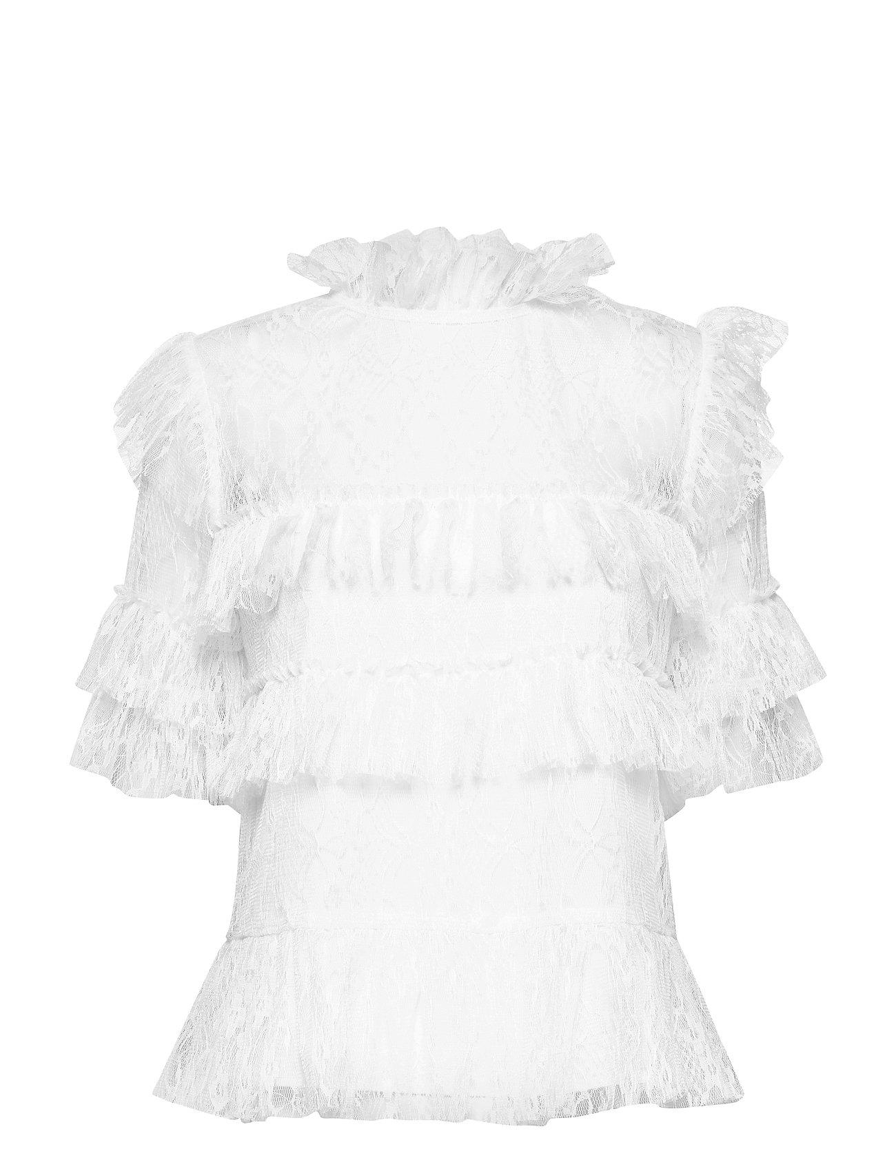 By Malina Rachel blouse - WHITE