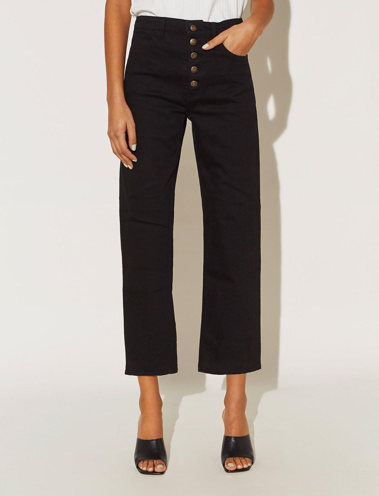 By Malina - Edith jeans - straight regular - black - 0