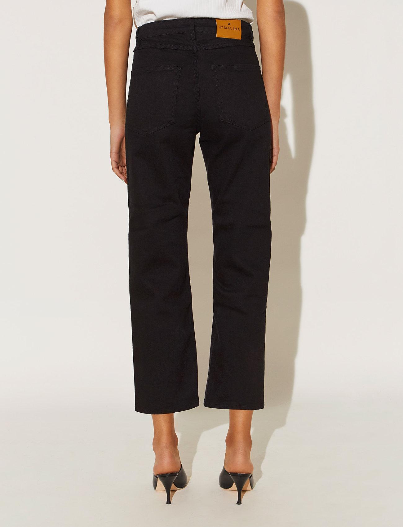 By Malina - Edith jeans - straight regular - black - 3
