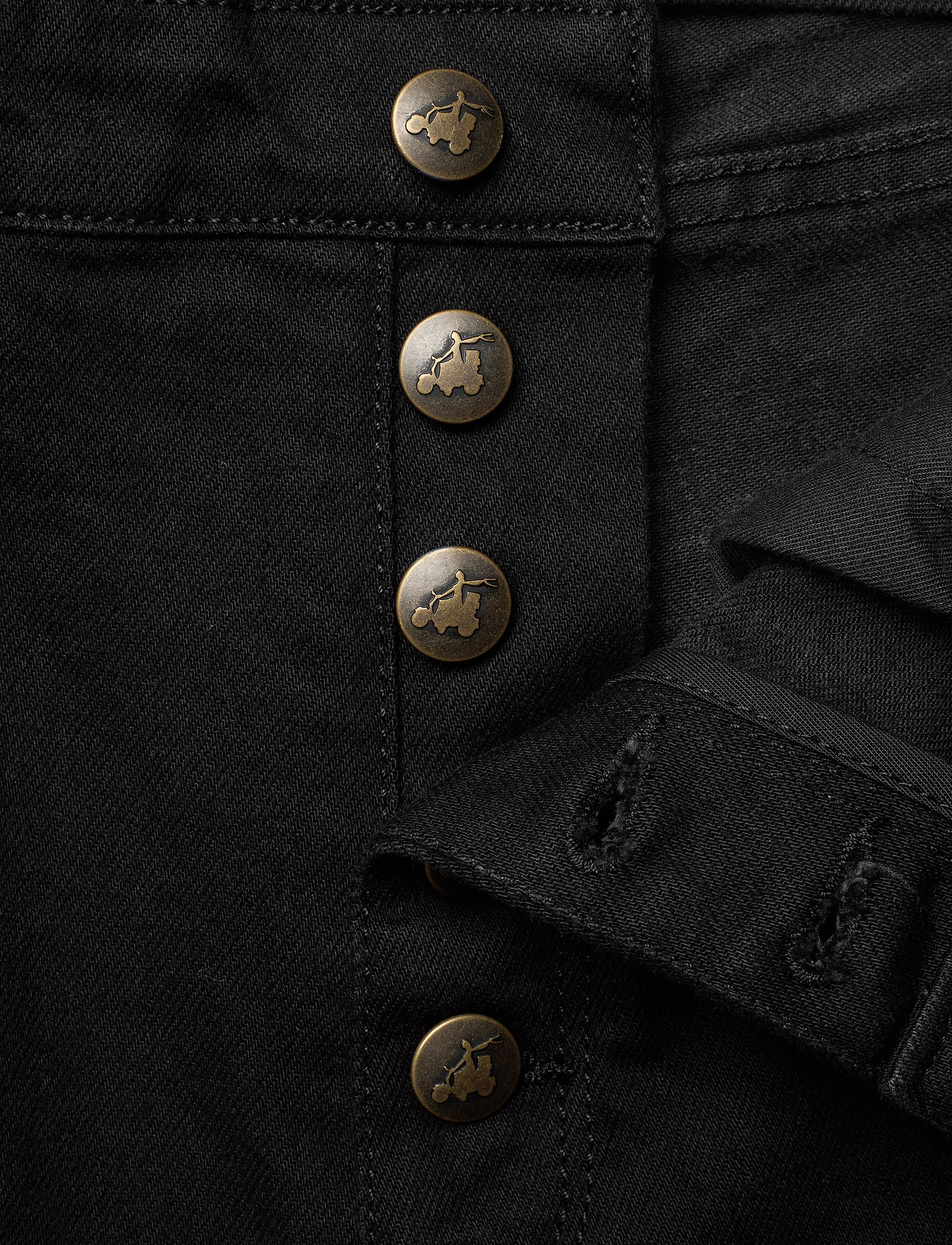 By Malina - Edith jeans - straight regular - black - 6