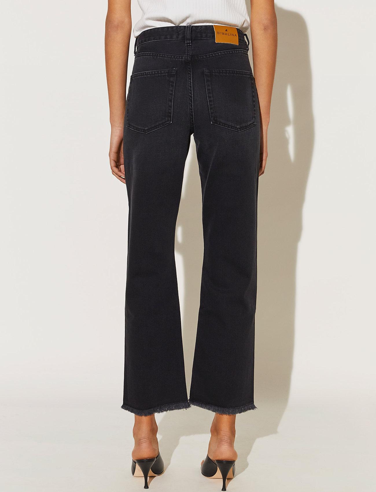 By Malina - Alexa jeans - straight regular - black - 4
