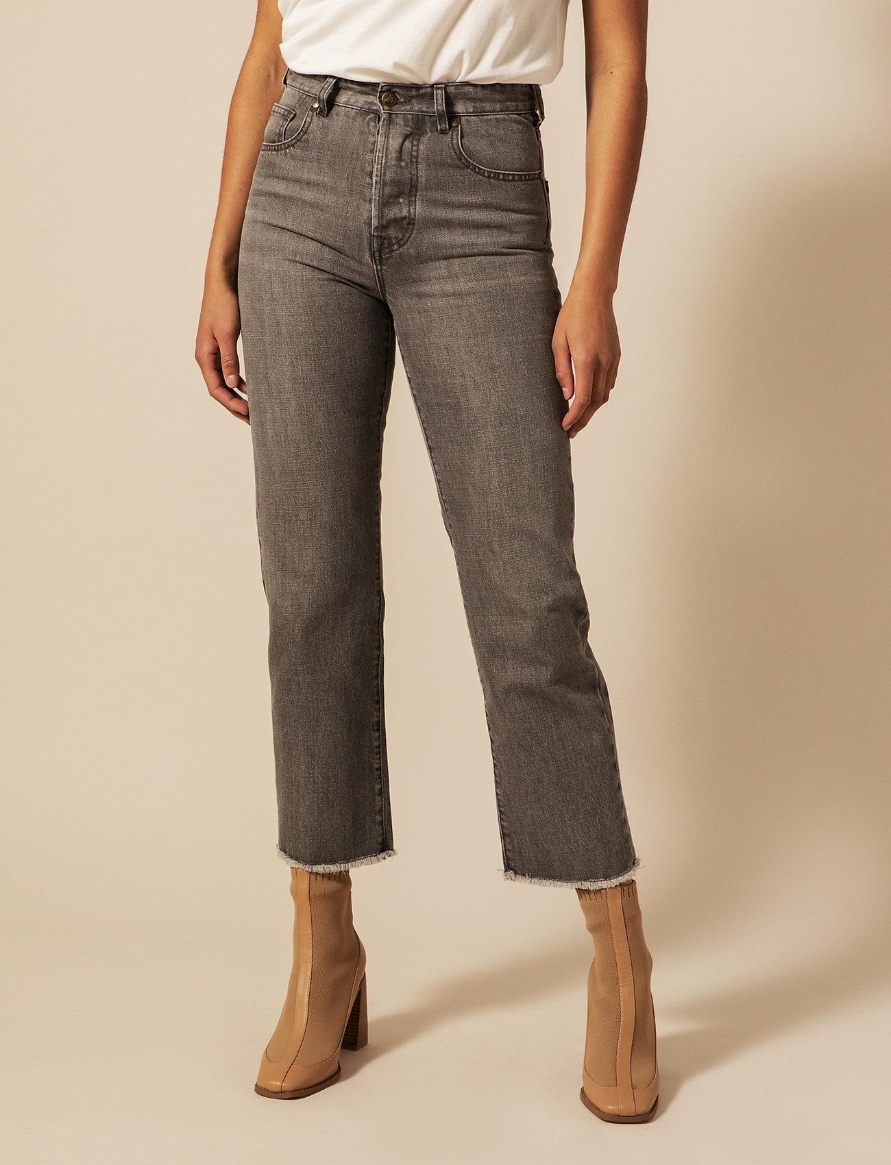 By Malina - Alexa jeans - straight regular - washed grey - 0
