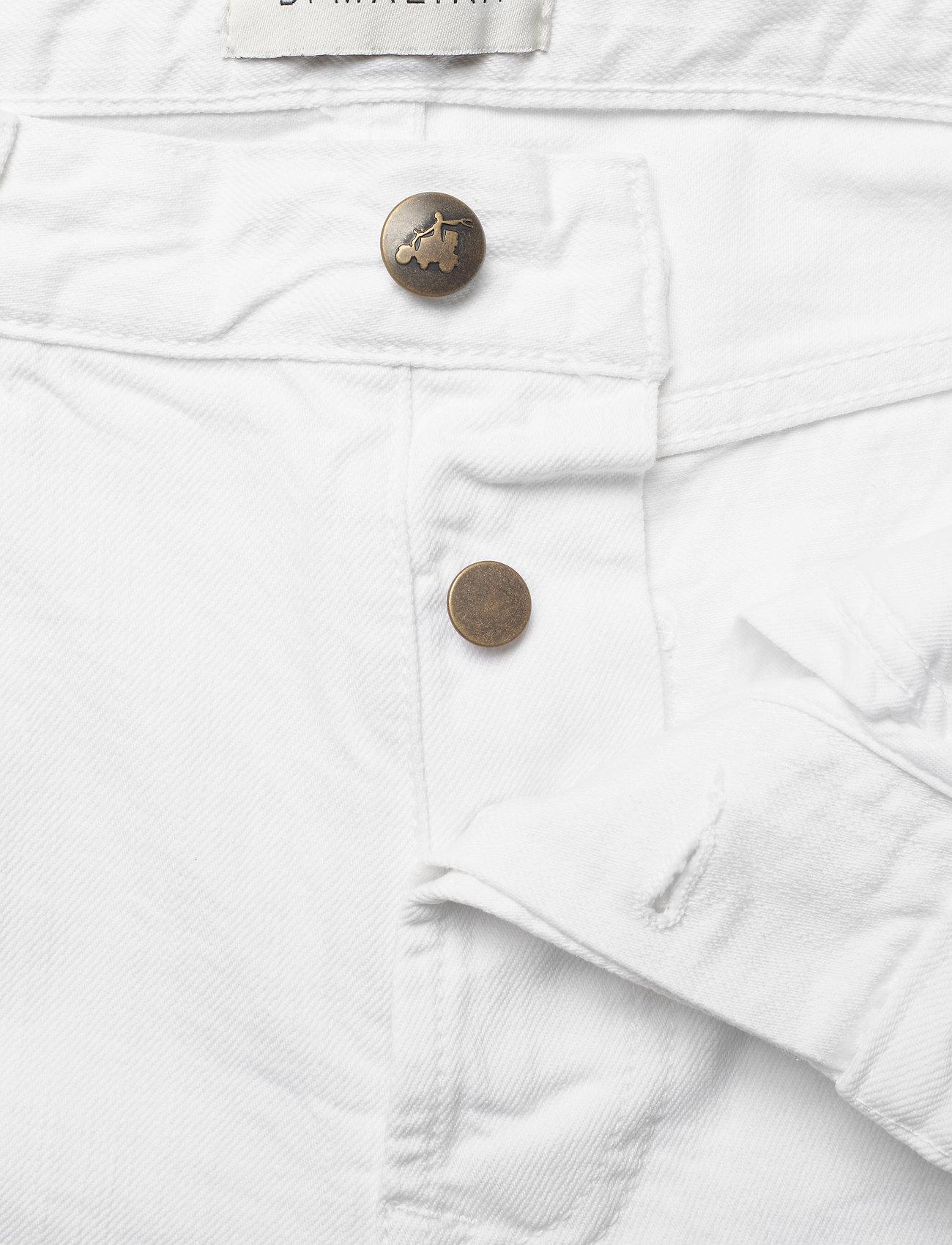 By Malina - Alexa jeans - straight jeans - white - 3