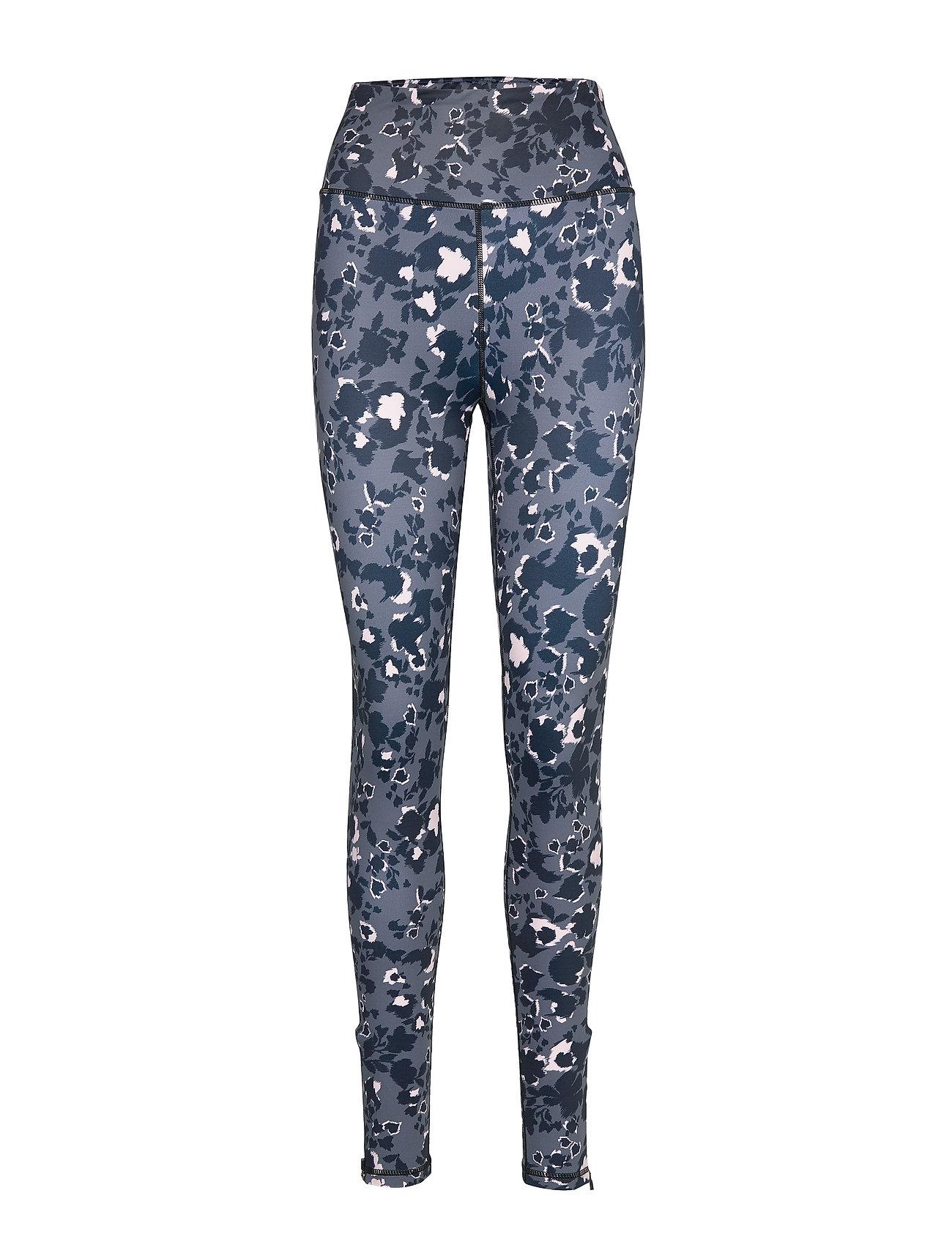 By Malina Training tights - SHADOW GARDEN BLUE