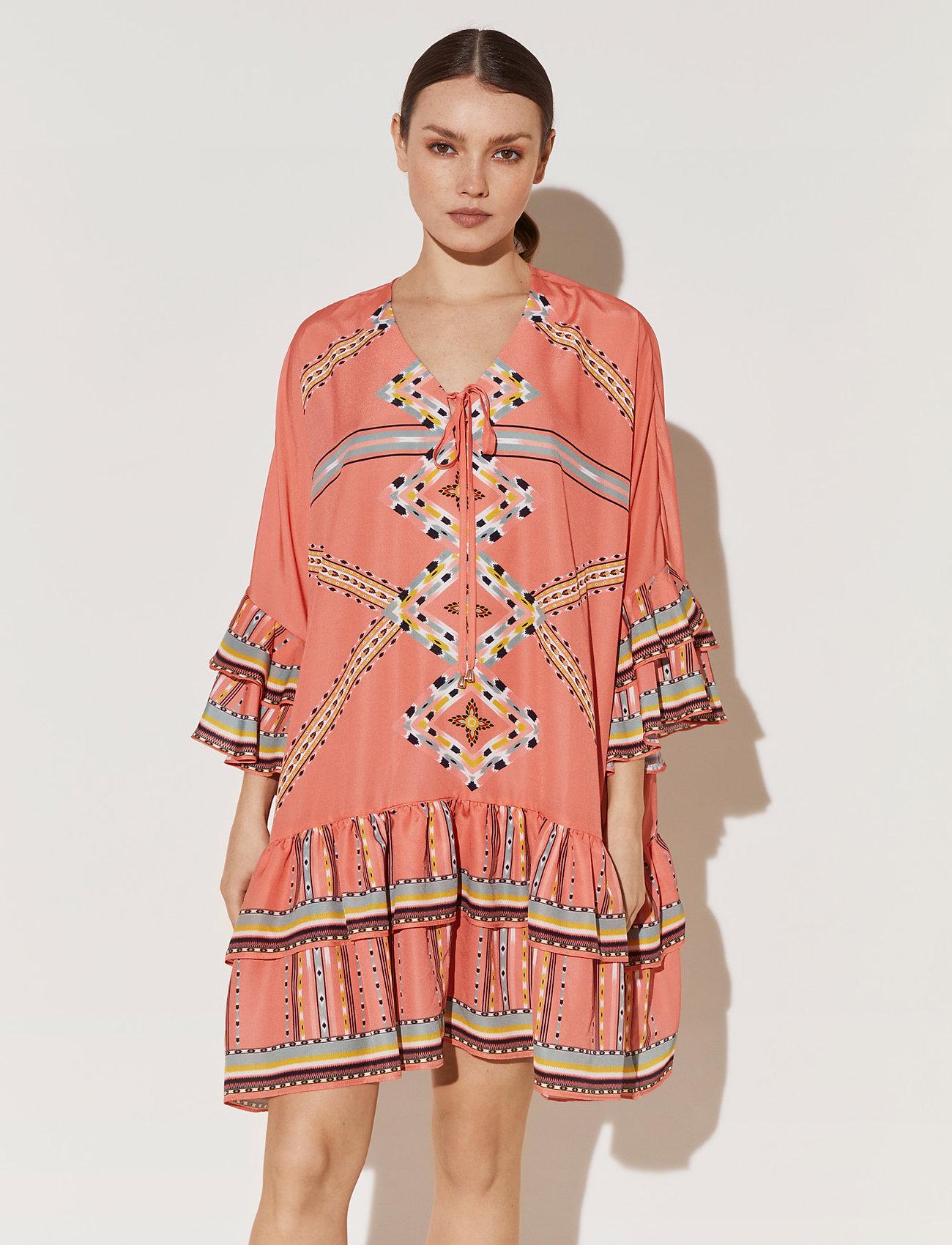 By Malina - Kyla dress - festklänningar - inca coral - 0