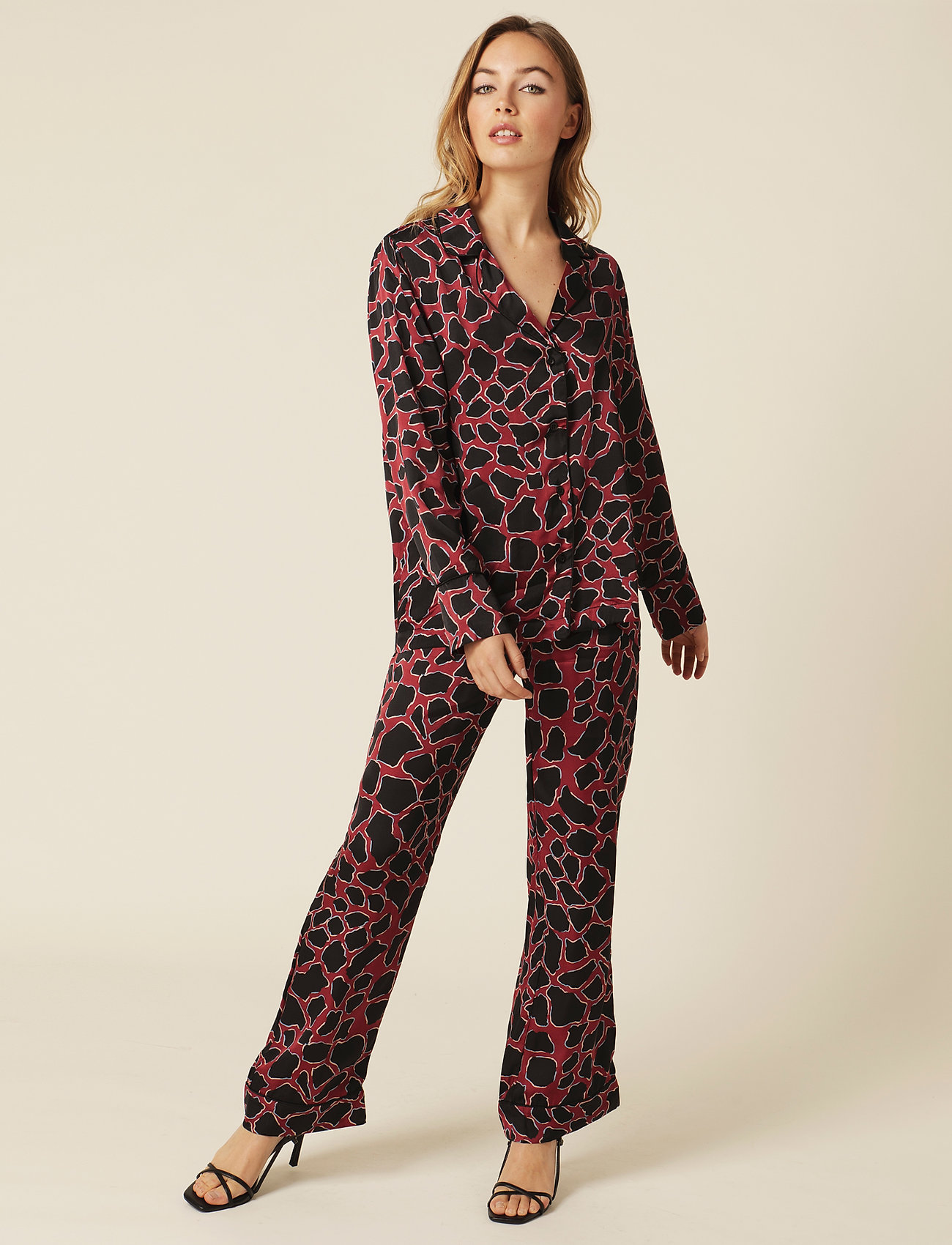 By Malina - Edie evening set - pyjamat - savannah - 0