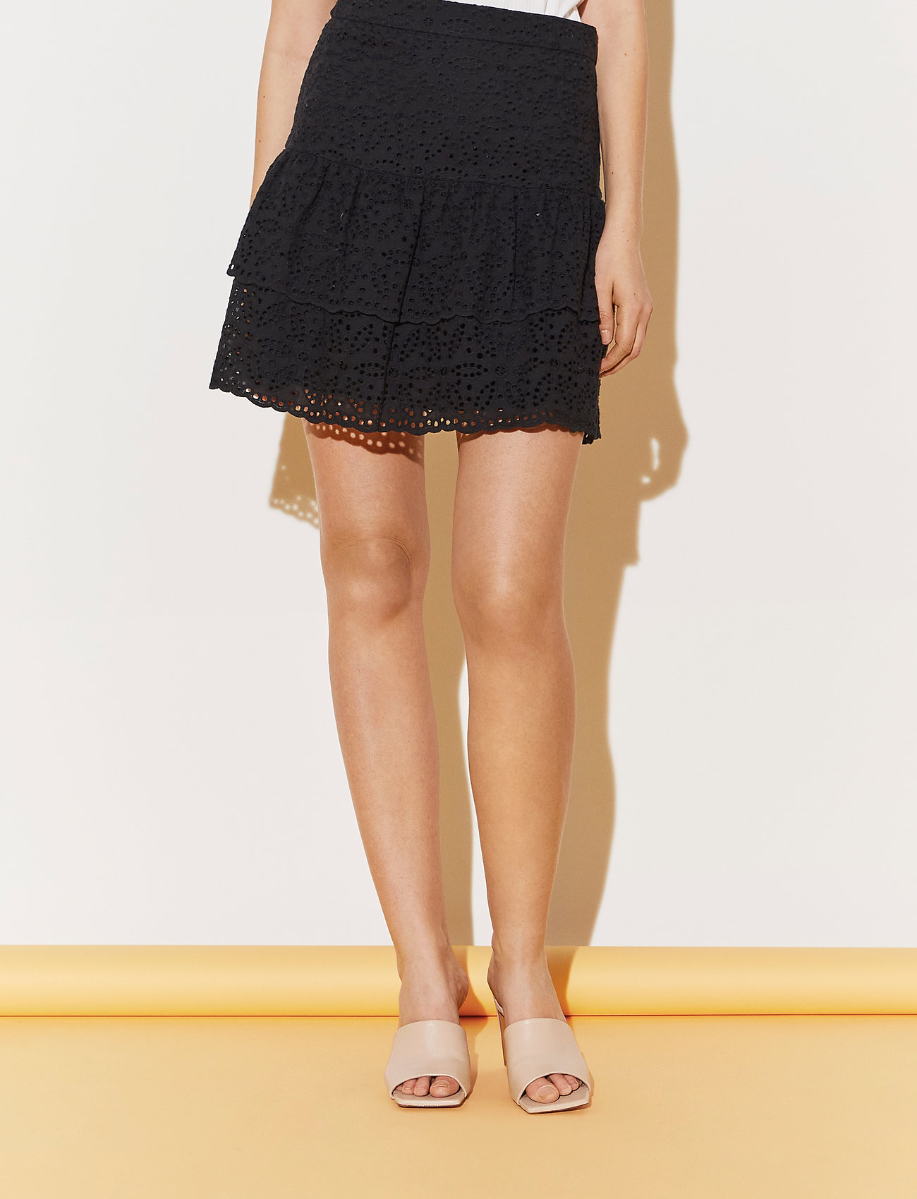 By Malina - Kacey skirt - korta kjolar - black - 0