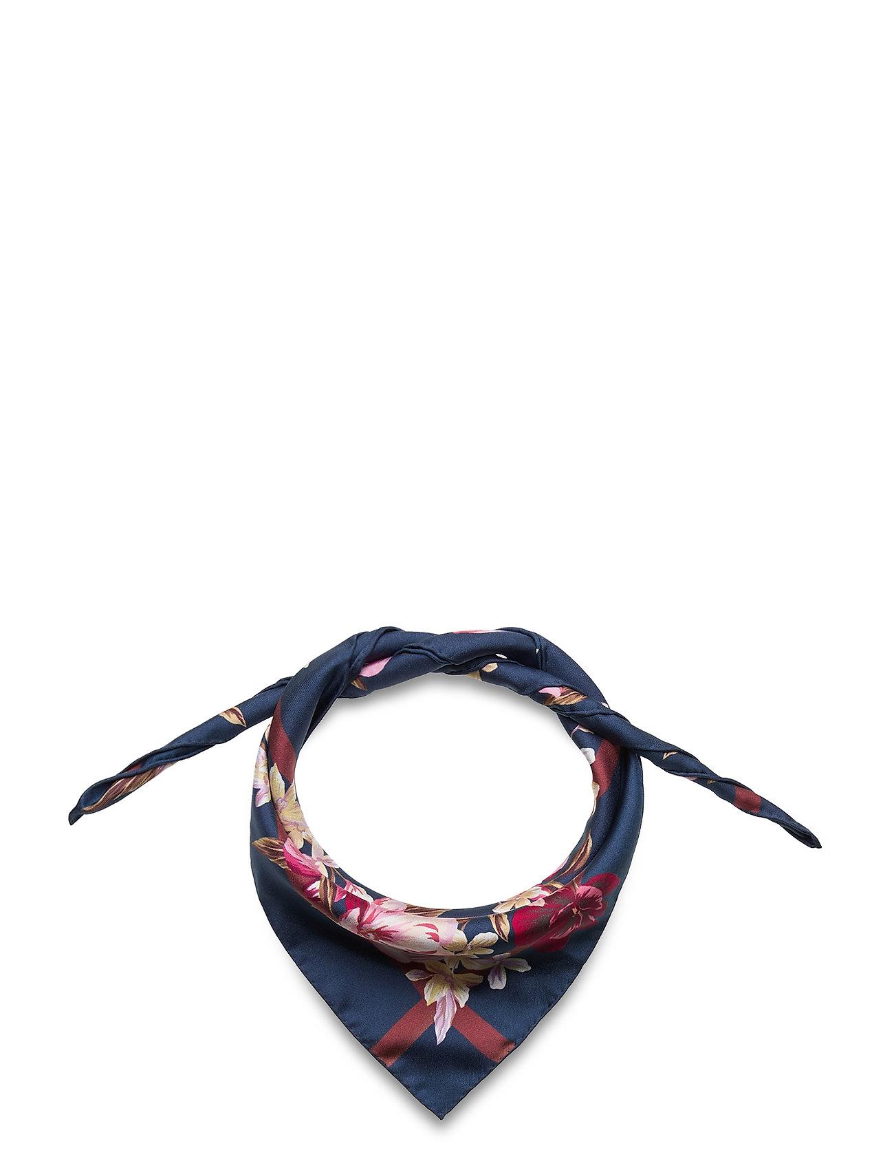 Silk Scarf Tørklæde Multi/mønstret By Malina