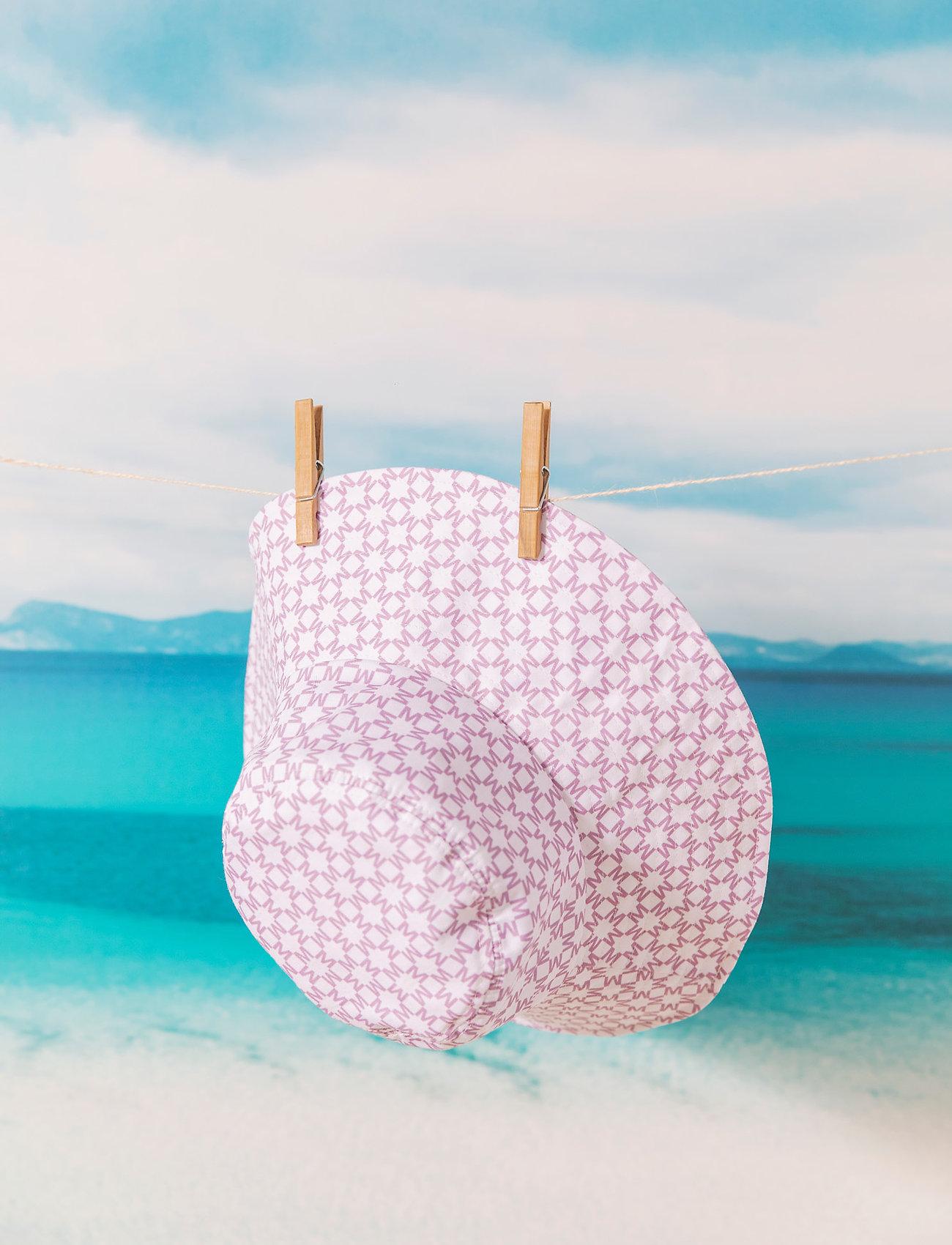 By Malina - Violet sun hat - bucket hats - iconic print light lavender - 0