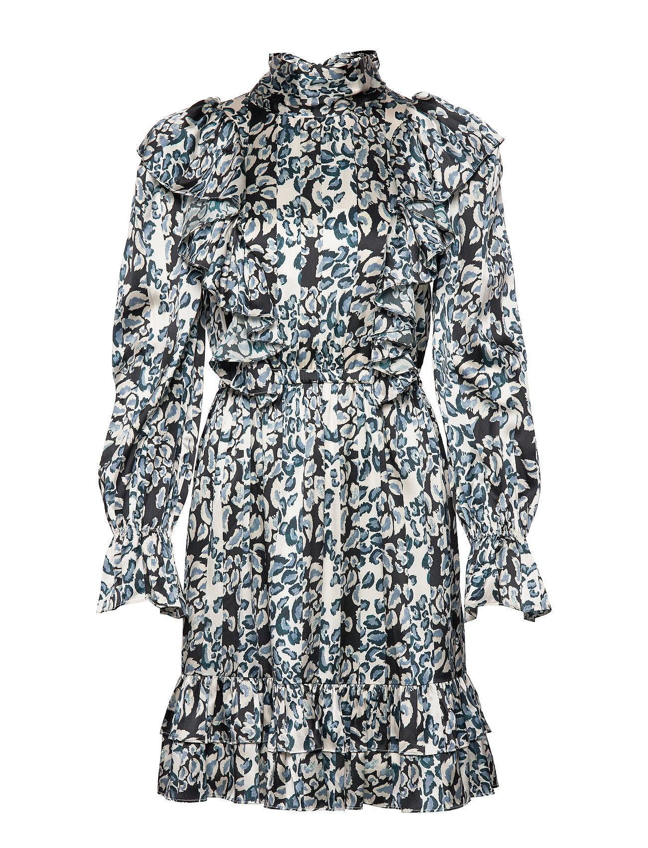 By Malina Ava mini dress - LEOPARDI