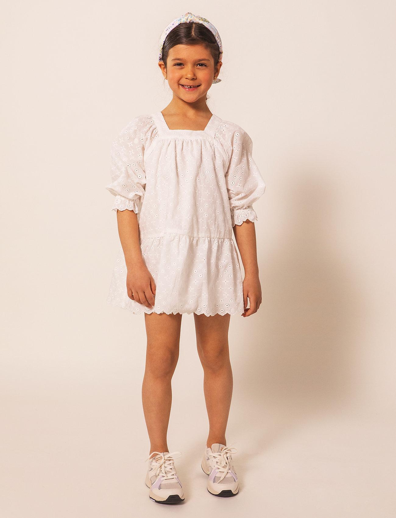 By Malina - Mini Gracia dress - kleider - white - 0
