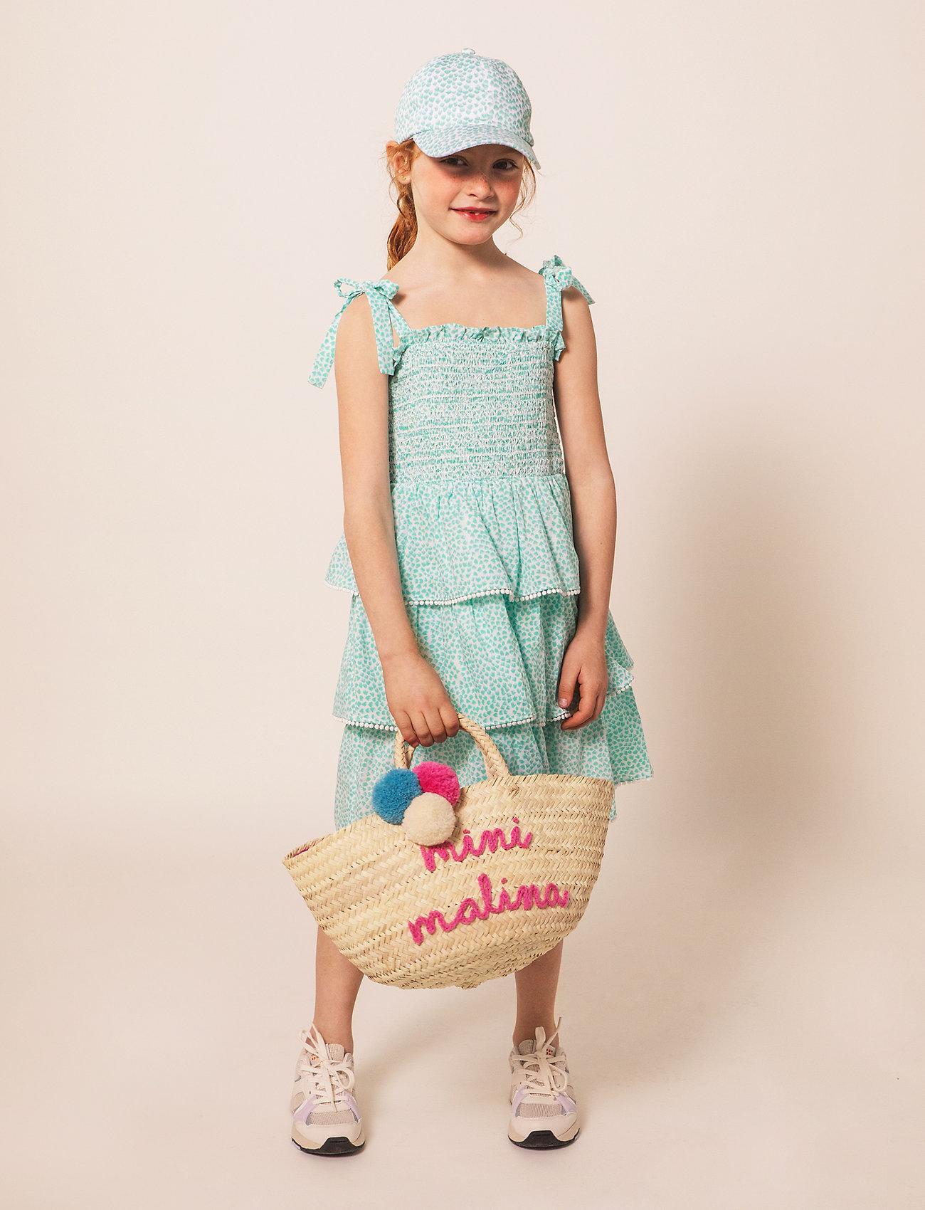 By Malina - Mini Neiva dress - kleider - coastal flower - 0