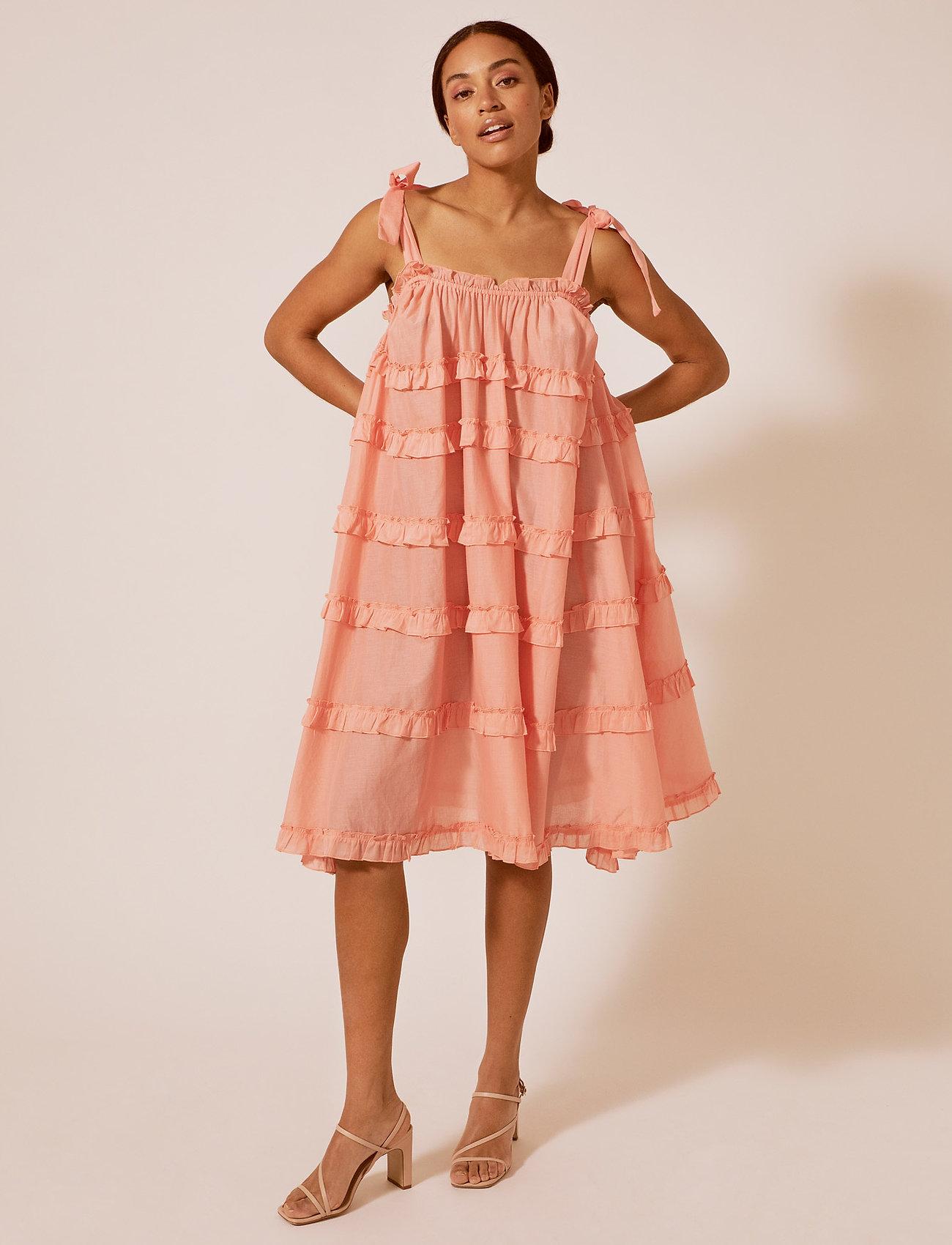 By Malina - Blanca dress - midi jurken - peach blush - 0