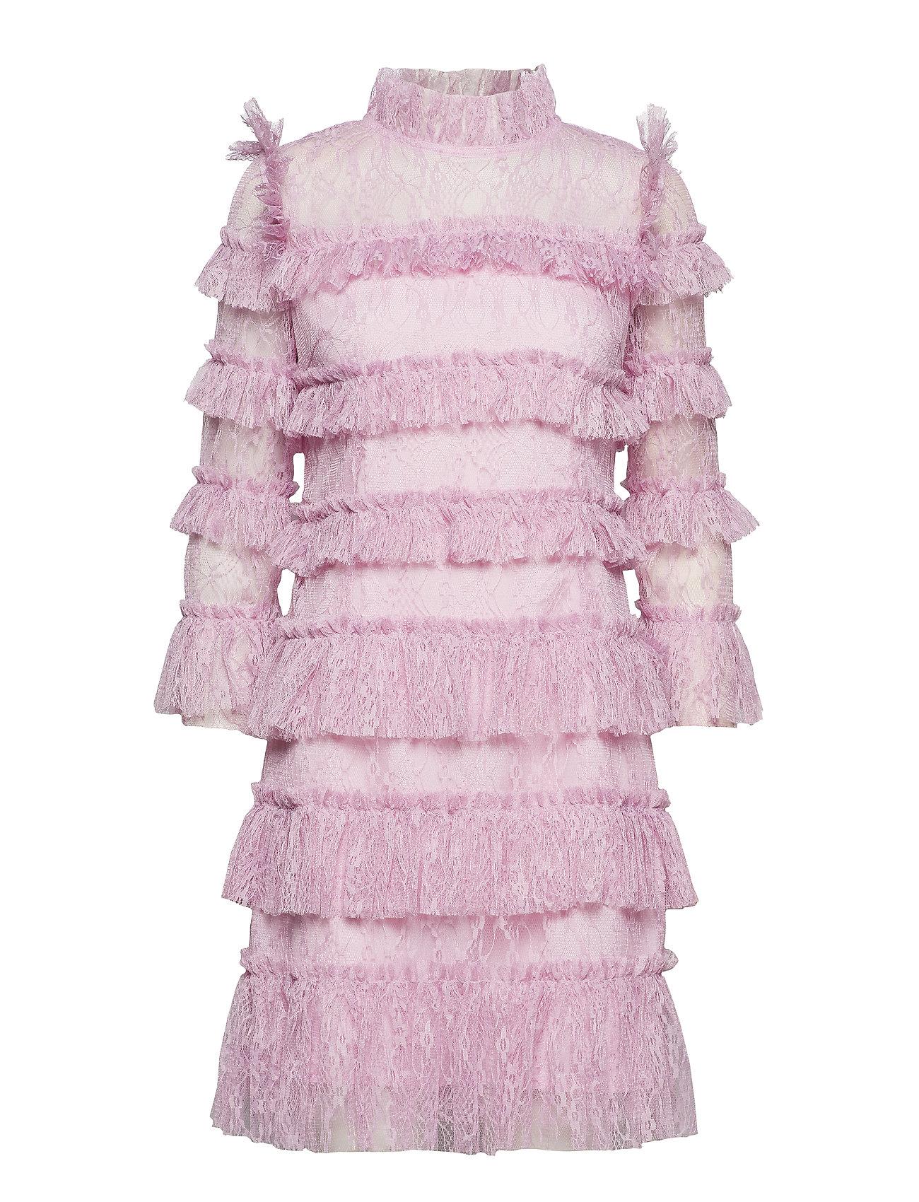 By Malina Carmine mini dress - LAVENDER