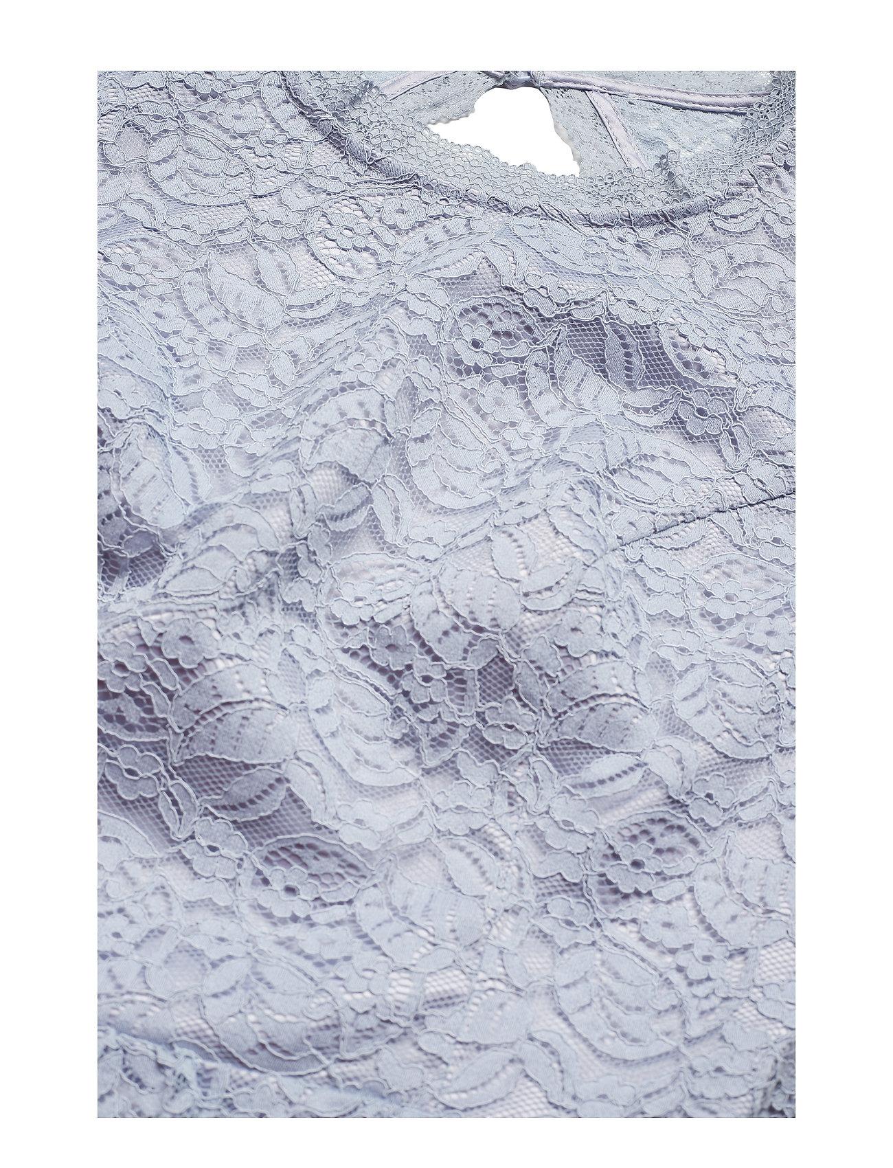 By Malina - Claire dress - kanten jurken - ocean blue - 0