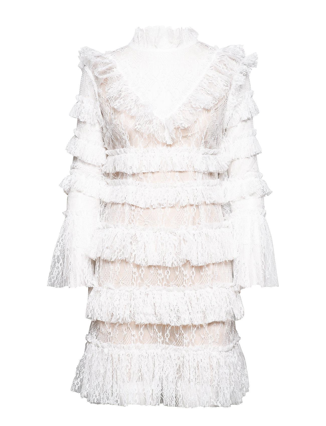 By Malina Rosa dress - WHITE