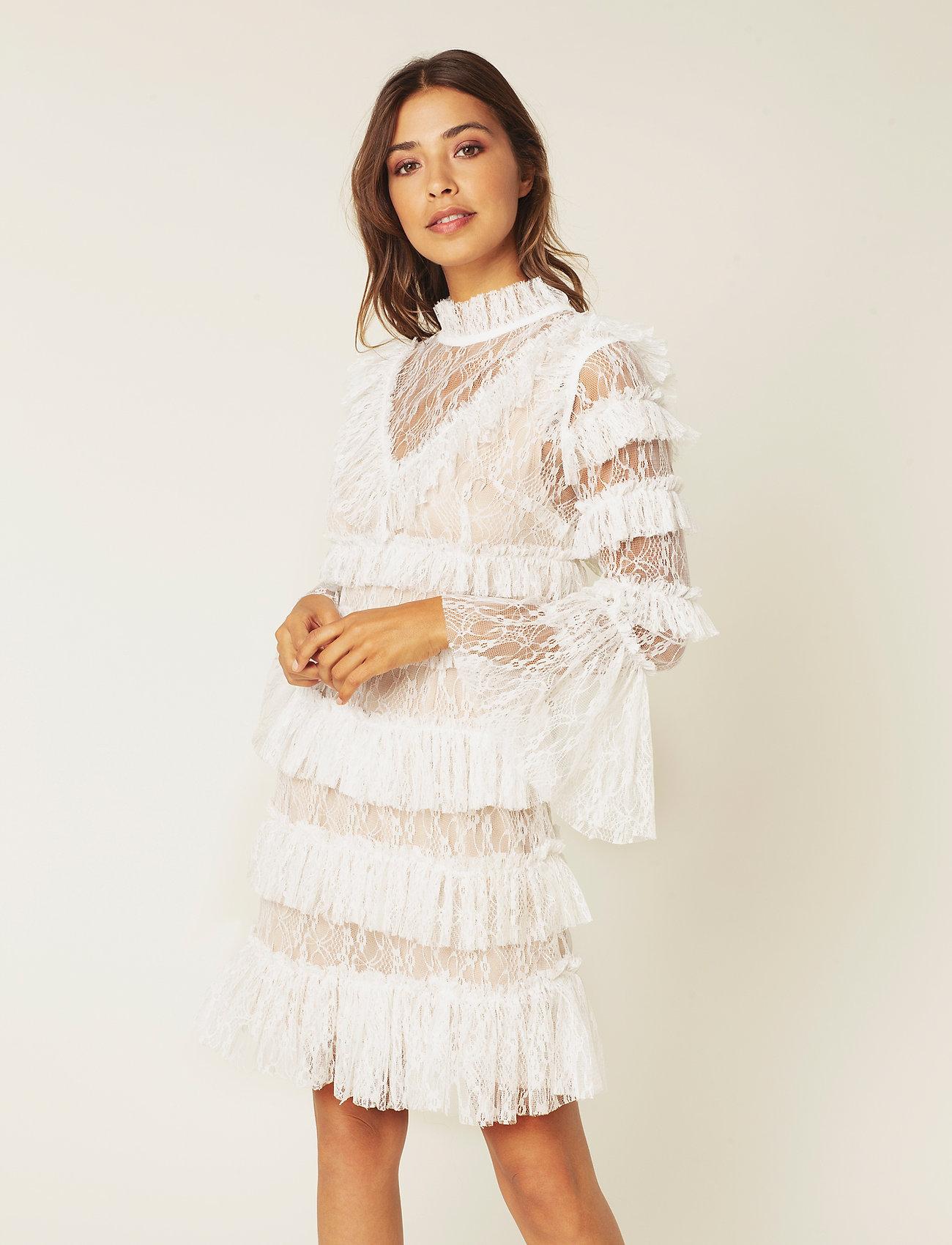 By Malina - Rosa dress - korte kjoler - white