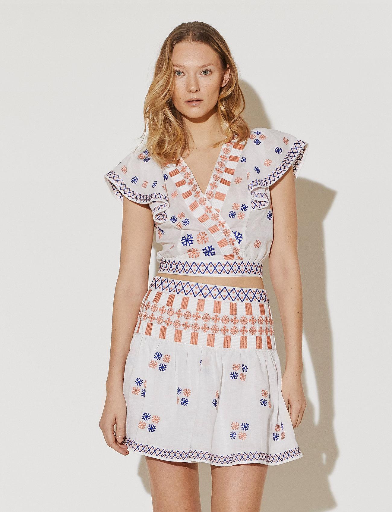 By Malina - Cora skirt - korta kjolar - white - 0