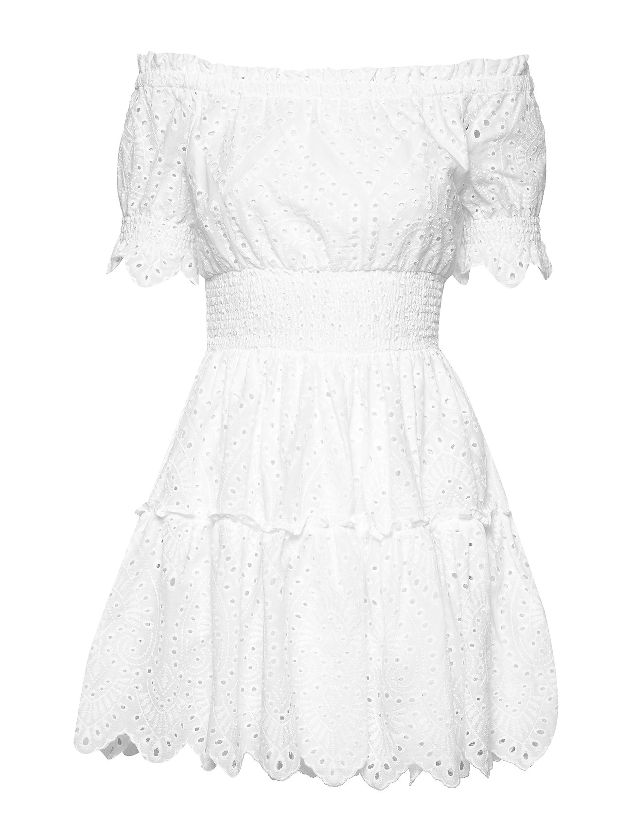By Malina Chante dress - WHITE