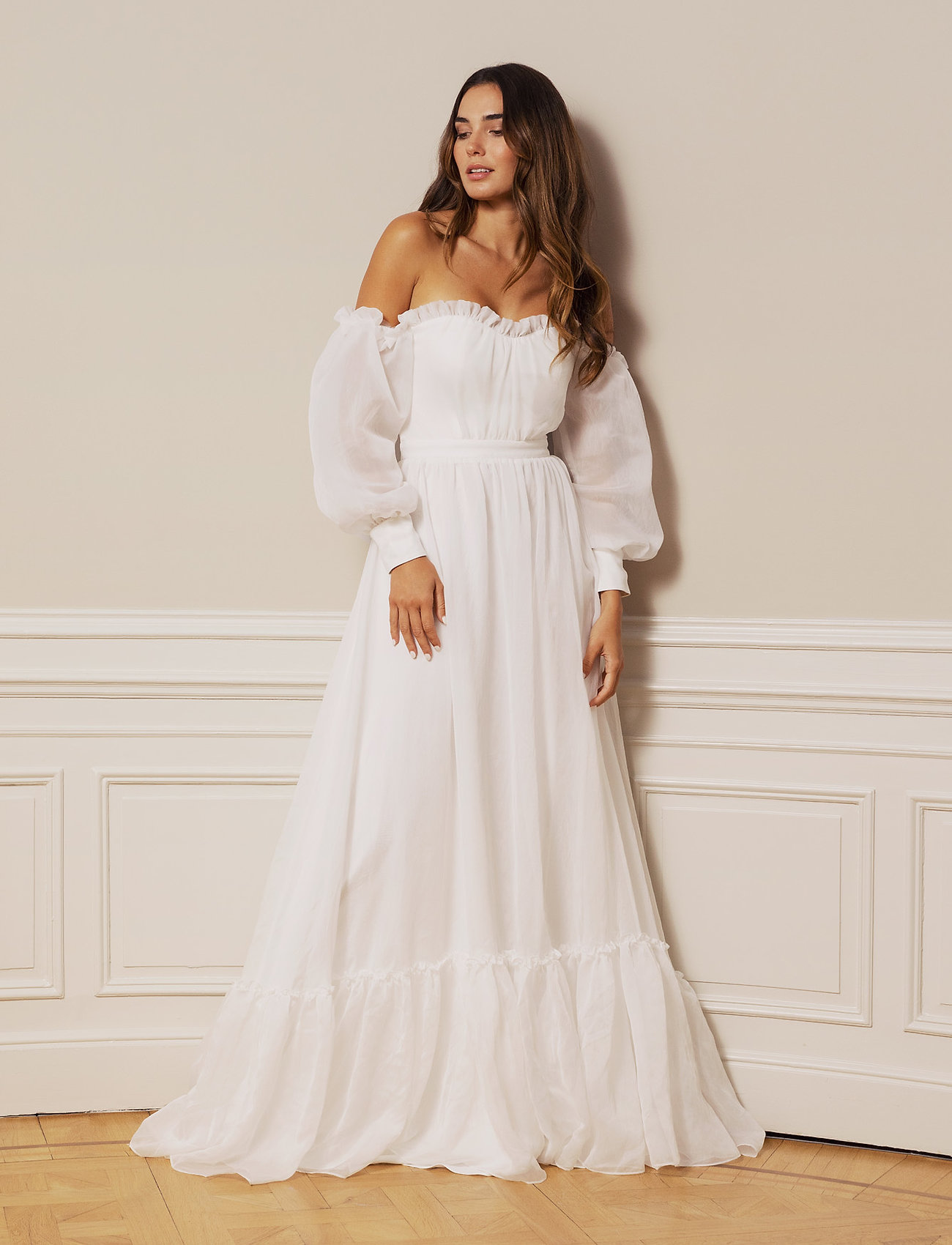 By Malina - Alexia gown - brudklänningar - ivory - 0