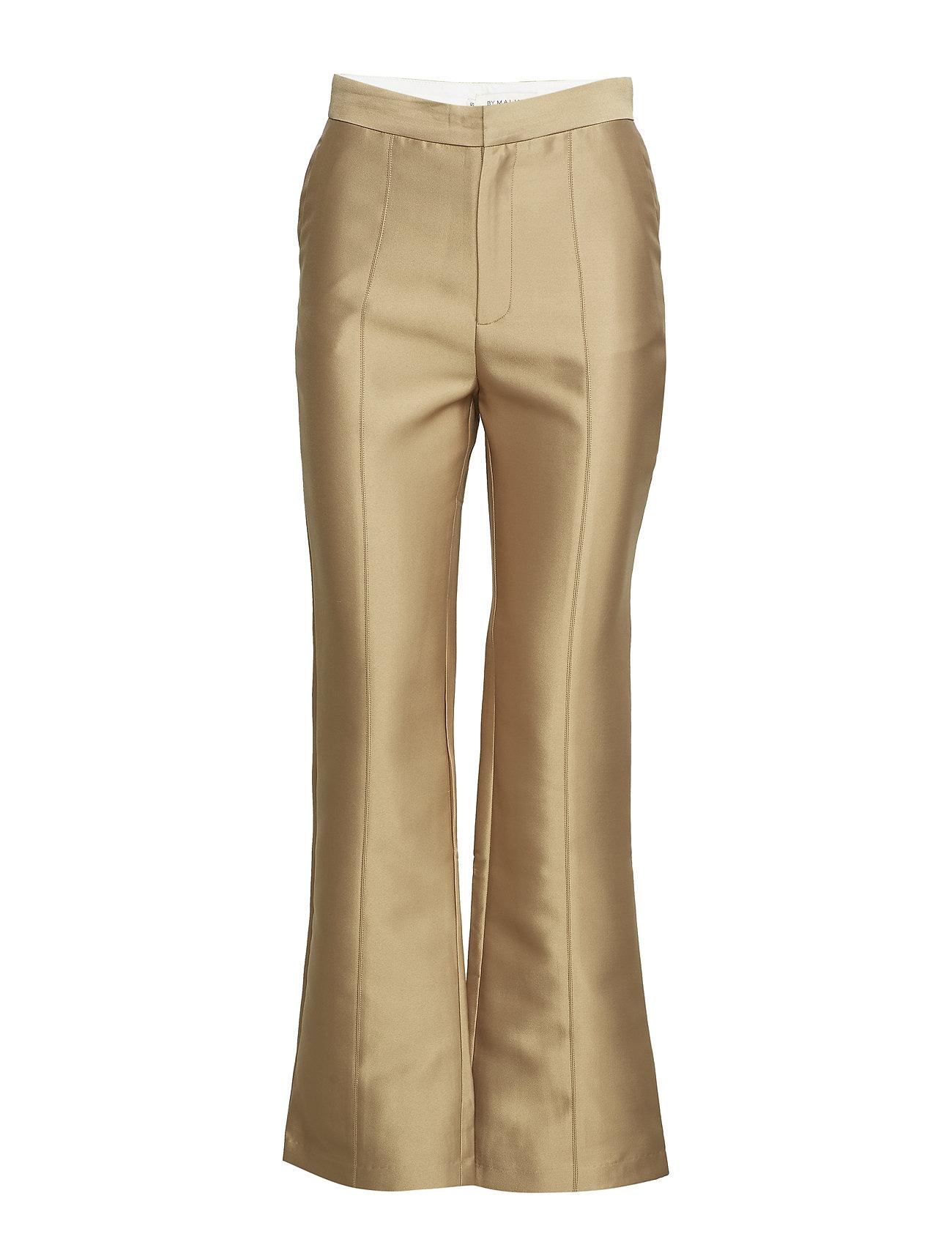 Image of Elvina Pants Bukser Med Lige Ben Guld By Malina (3071141913)