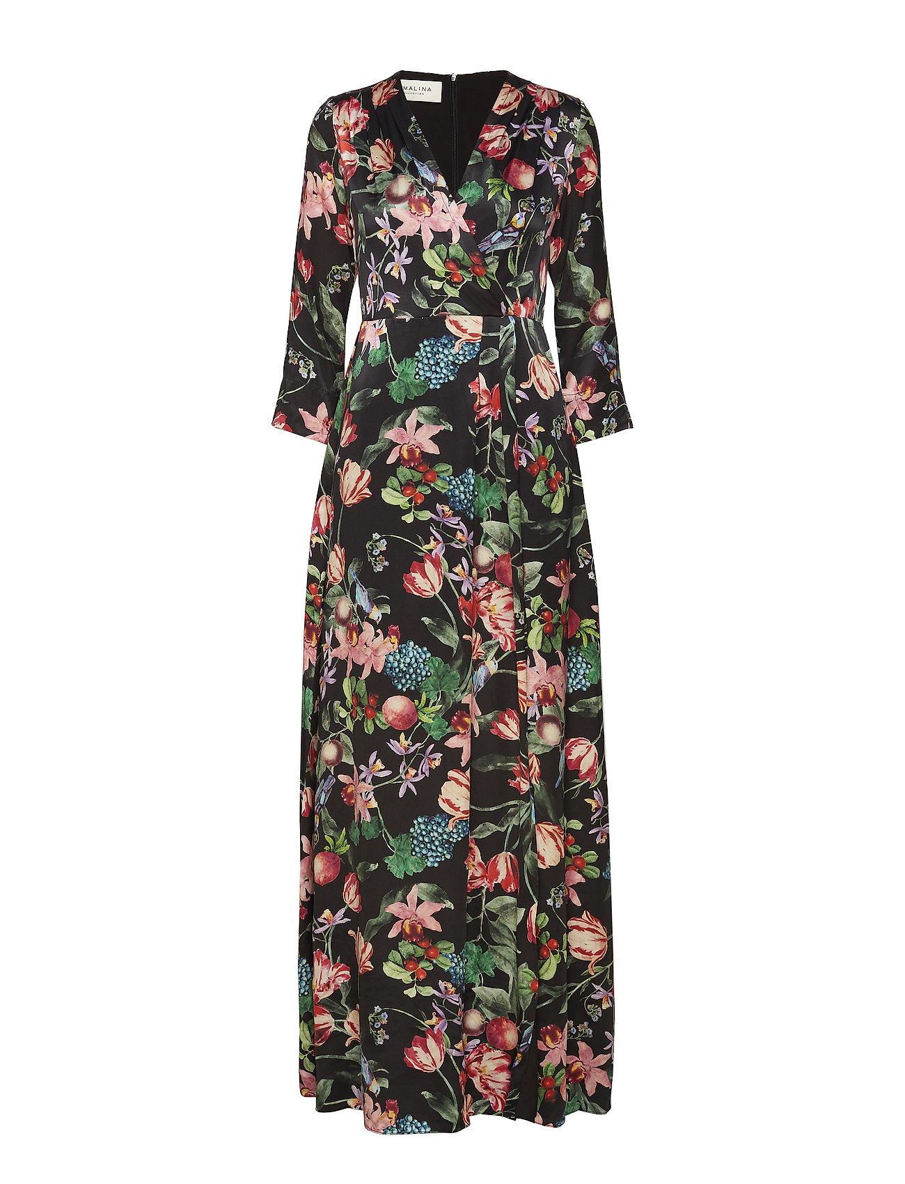 By Malina Columbine dress - BLACK BLOSSOM