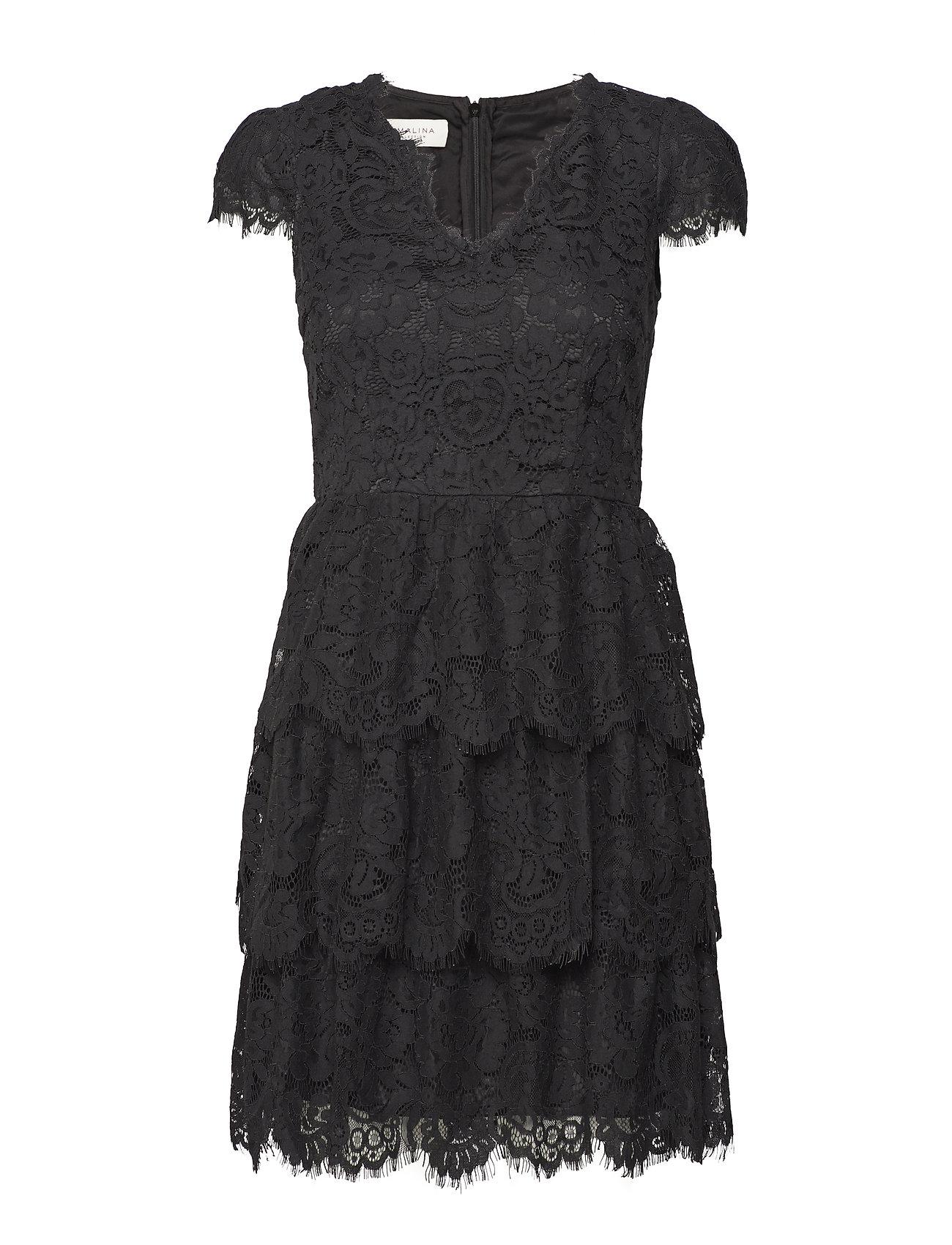 By Malina Peg dress - BLACK