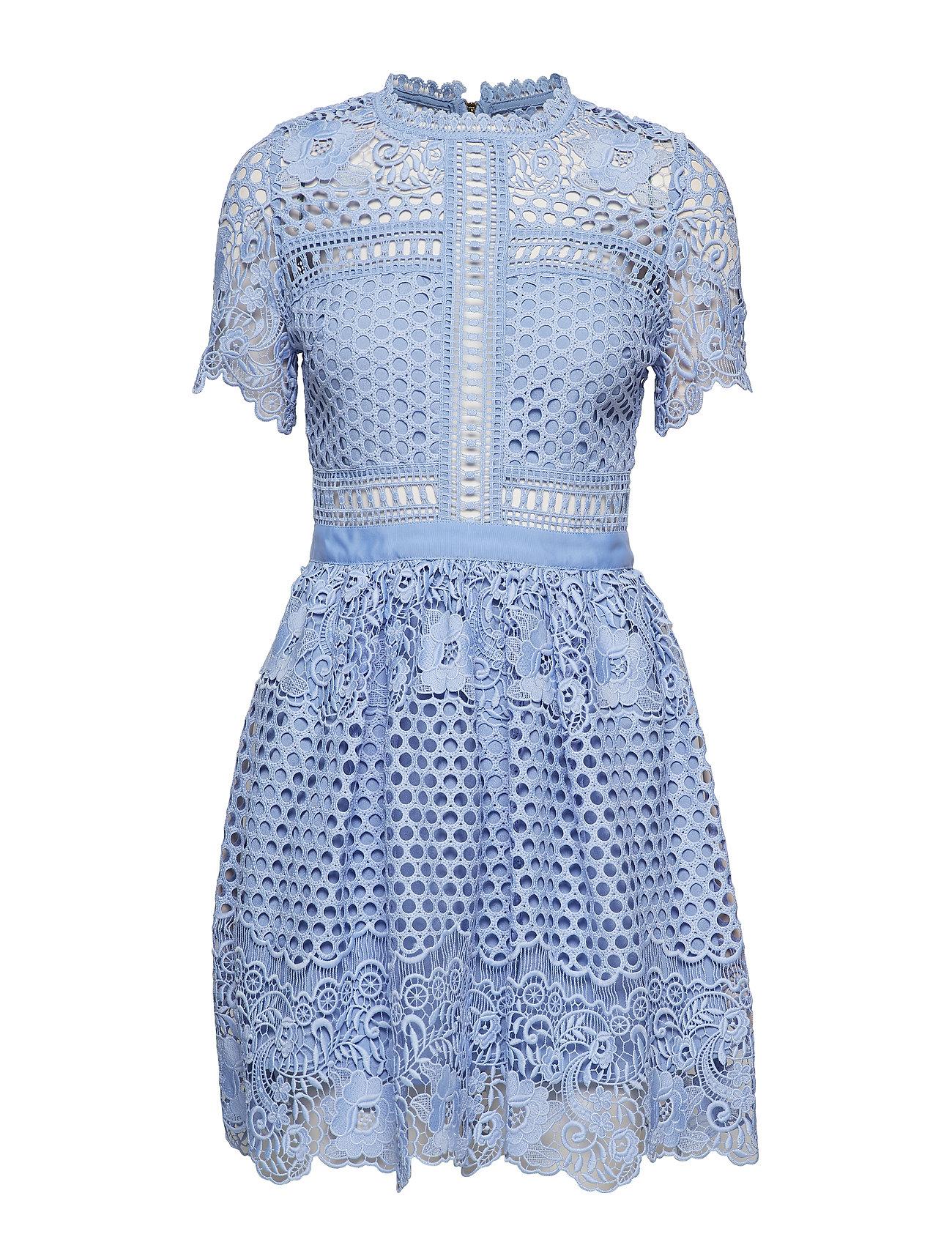 By Malina Flower Emily dress - COASTAL BLUE