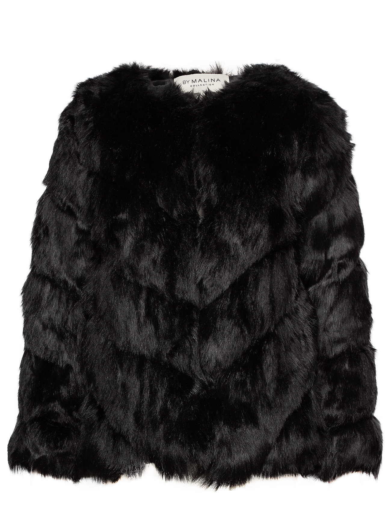 By Malina Oria faux fur jacket - BLACK