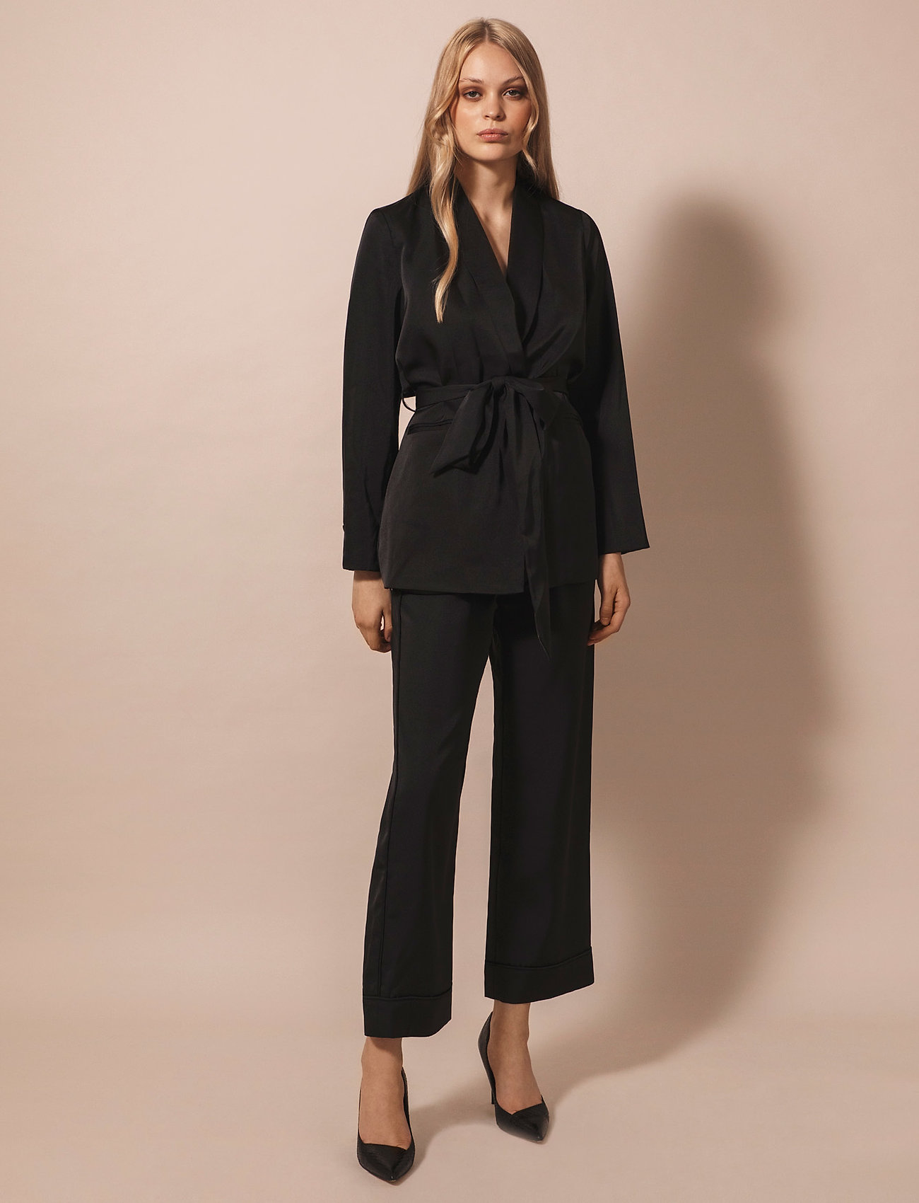 By Malina - Day jacket - kavajer - black - 0