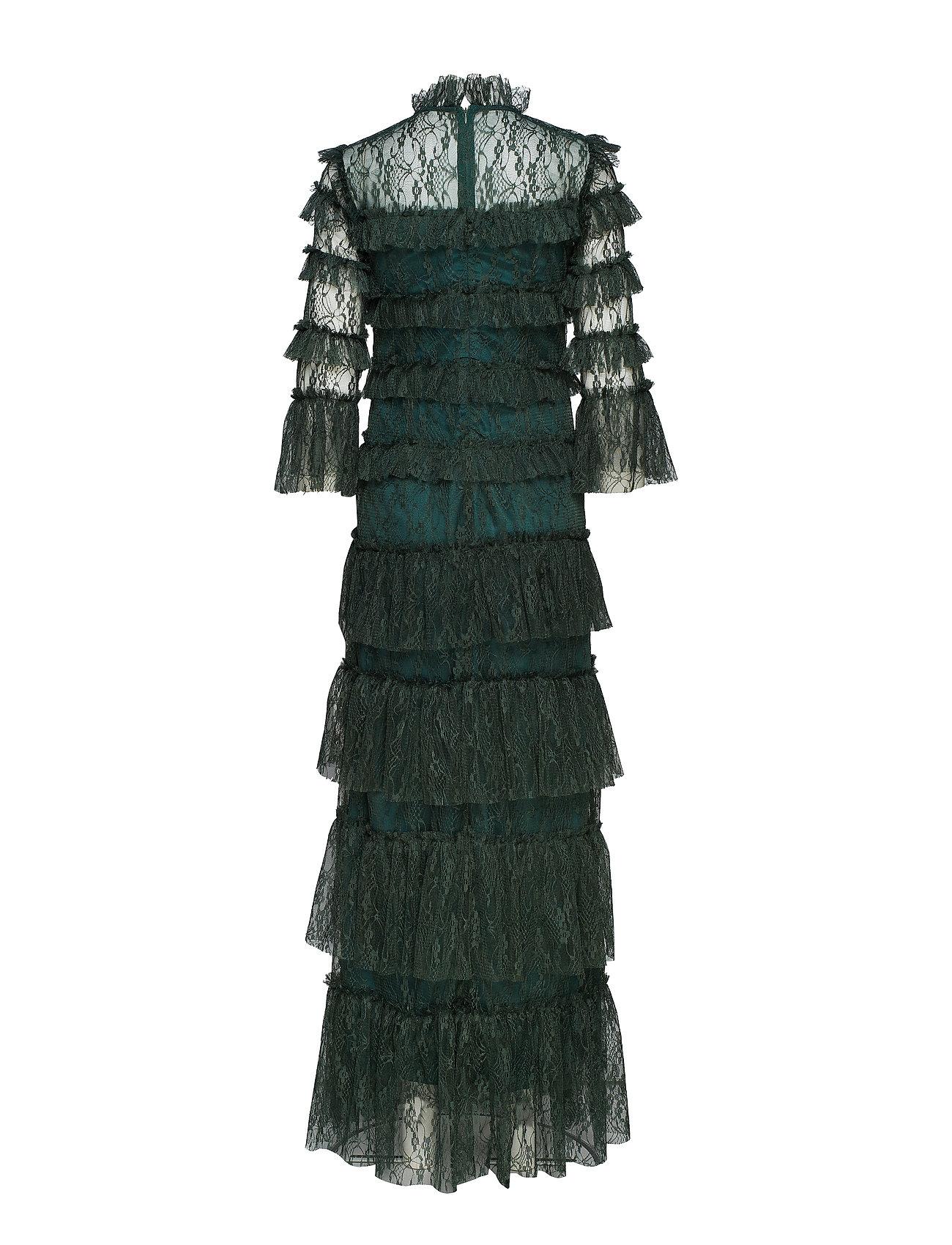 66f3d581f816 By Malina maxikjoler – Carmine Maxi Dress til dame i Sort - Pashion.dk