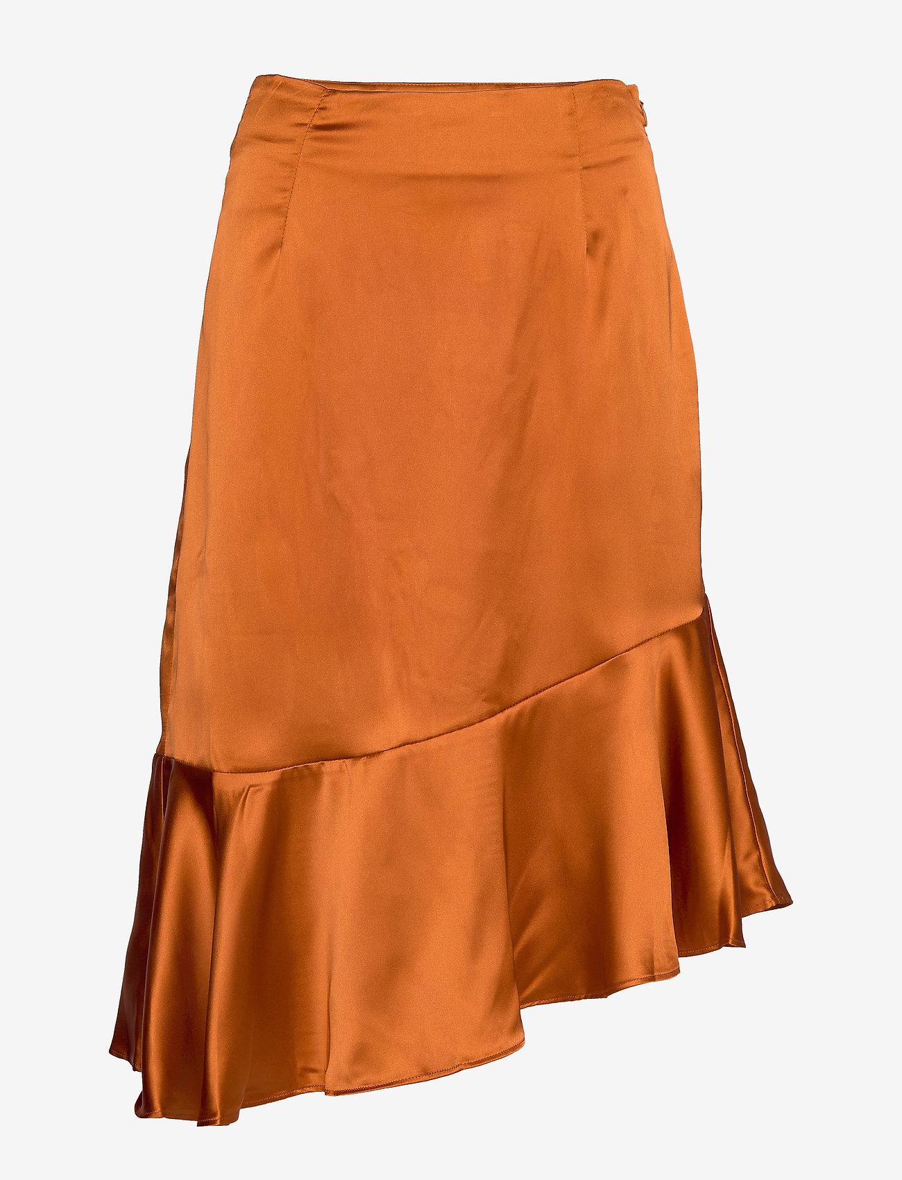 By Malina - Ellie skirt - midi kjolar - spiced honey - 1
