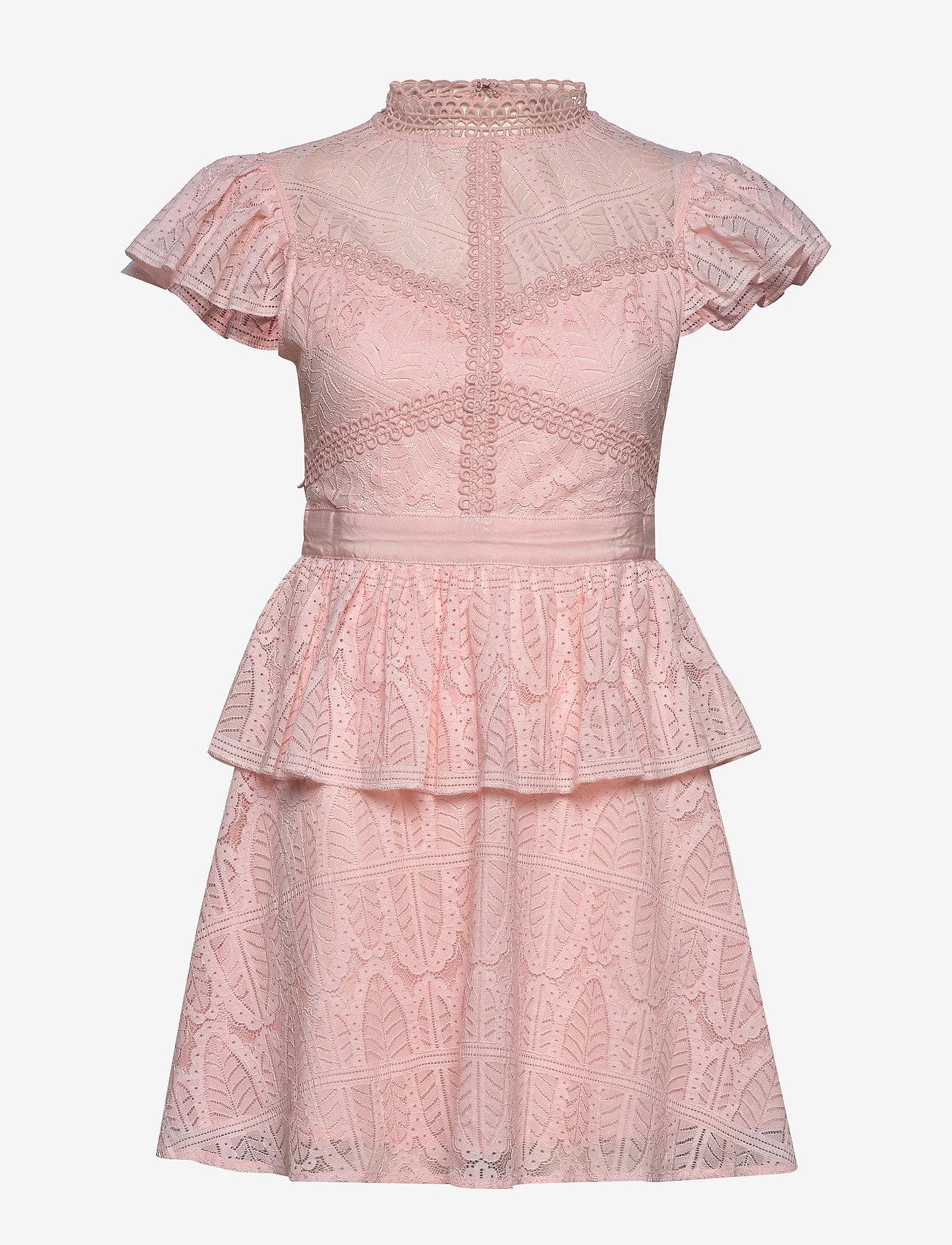 By Malina - Grace dress - korta klänningar - pink - 0