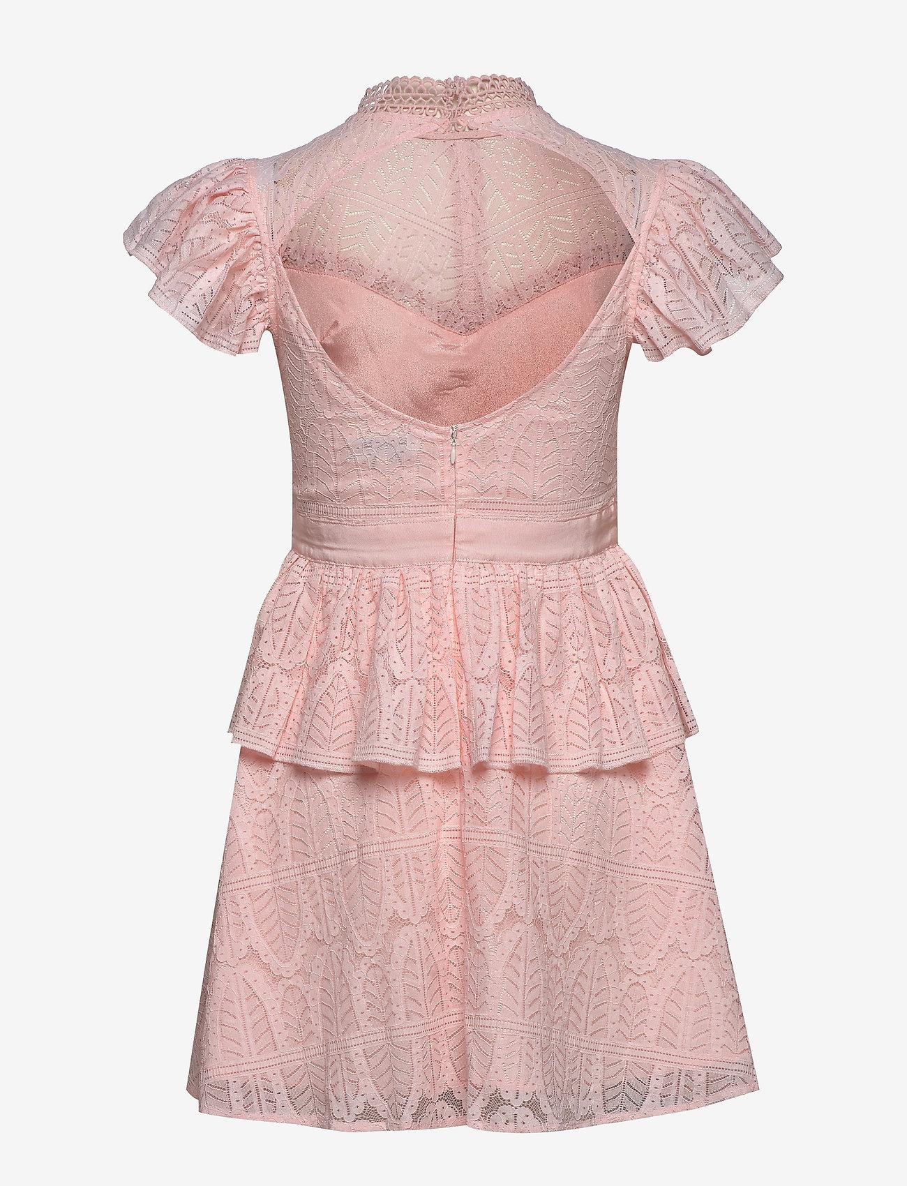 By Malina - Grace dress - korta klänningar - pink - 1