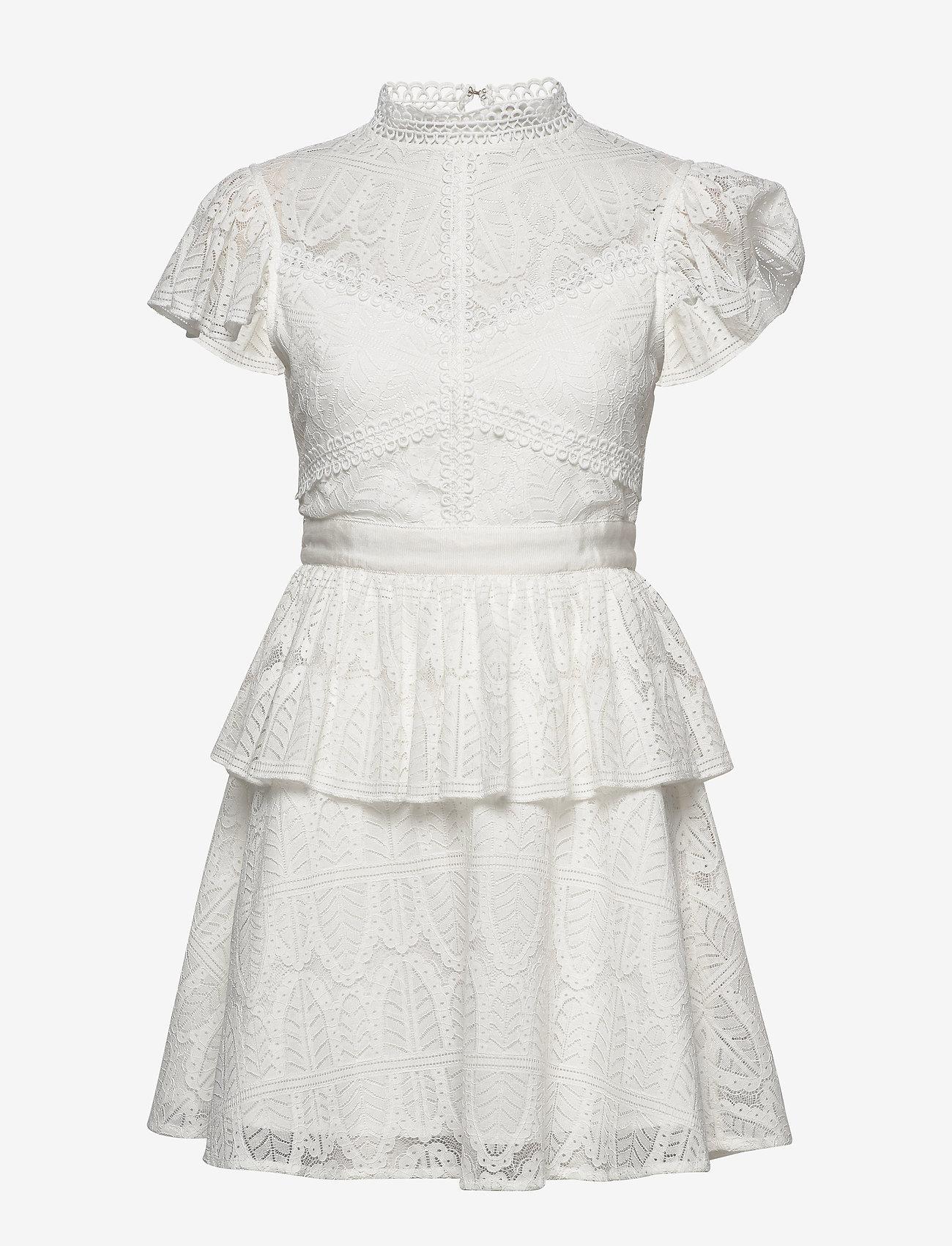 By Malina - Grace dress - korta klänningar - white - 1