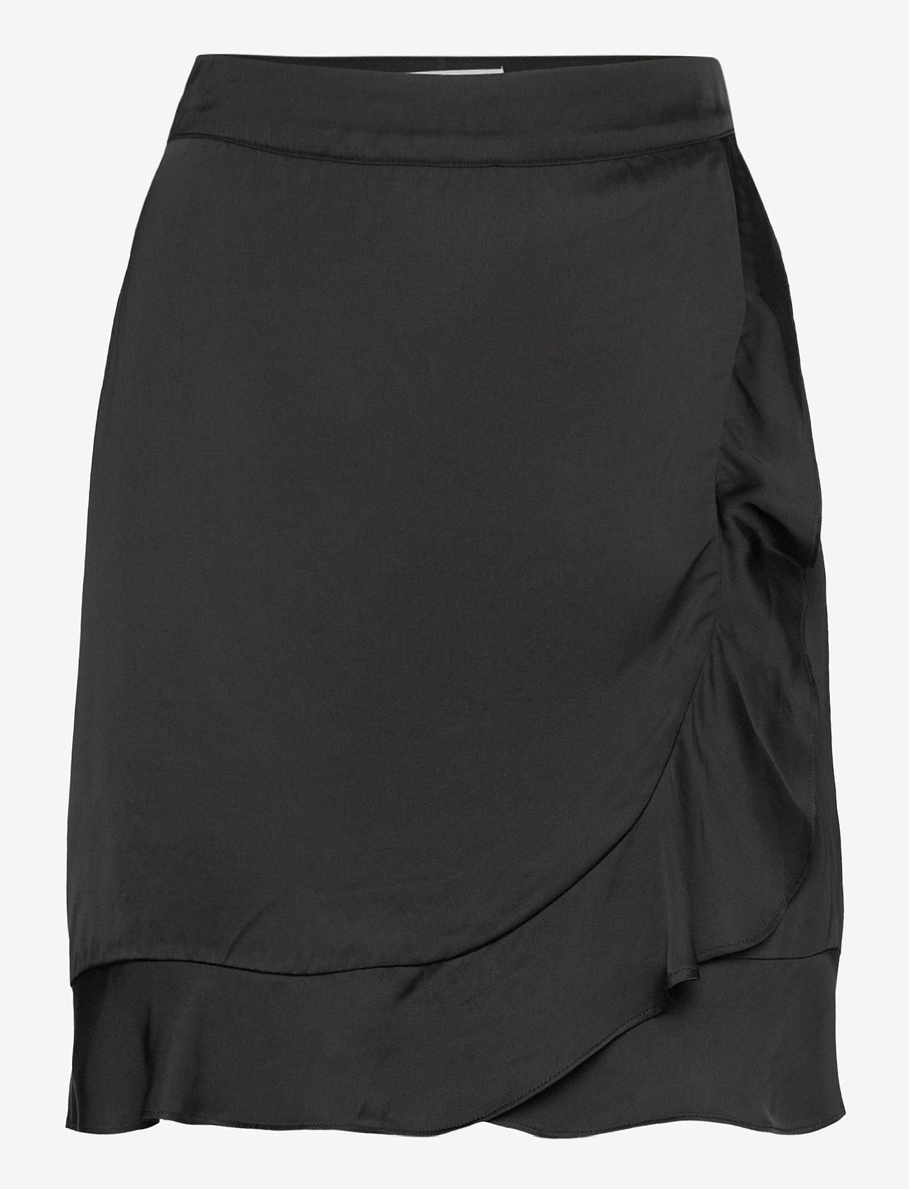 By Malina - Deena skirt - omlottkjolar - black - 1