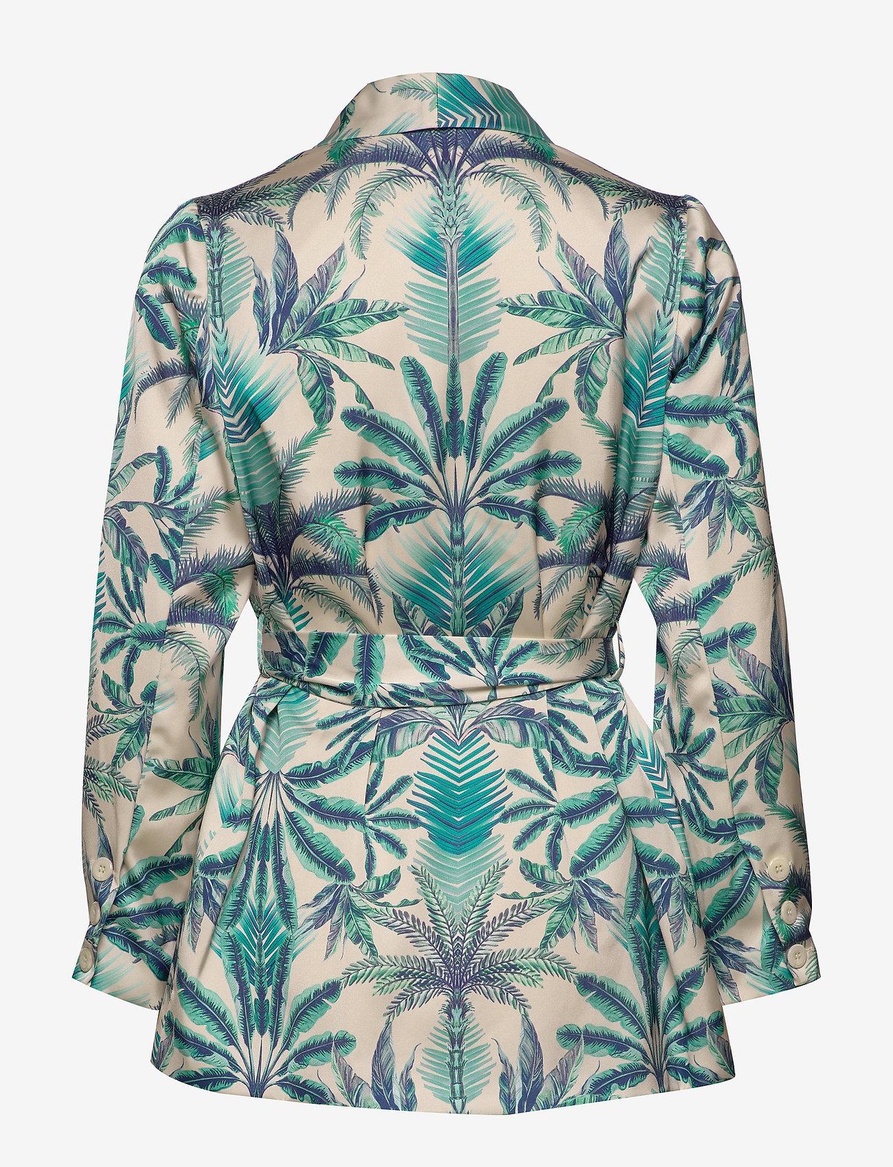 By Malina - Day jacket - rea - beneath the palms - 1