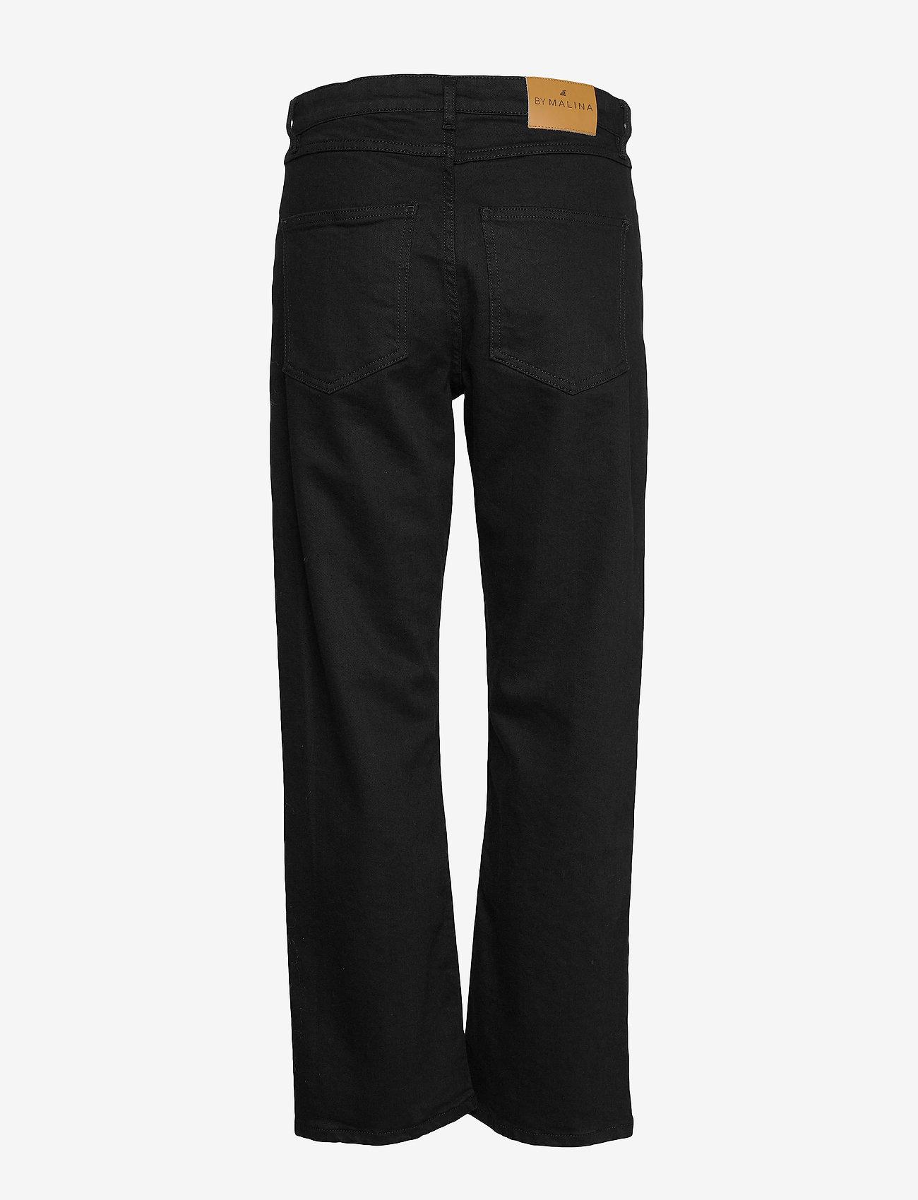 By Malina - Edith jeans - straight regular - black - 2