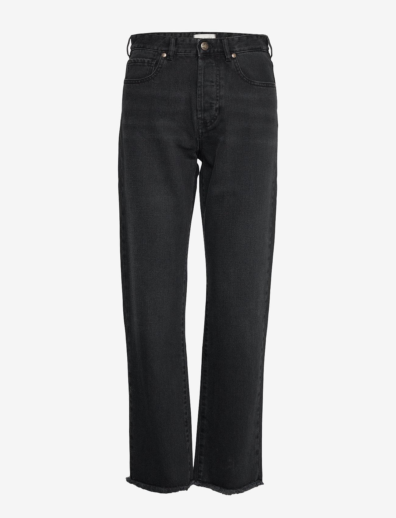 By Malina - Alexa jeans - straight jeans - black - 1