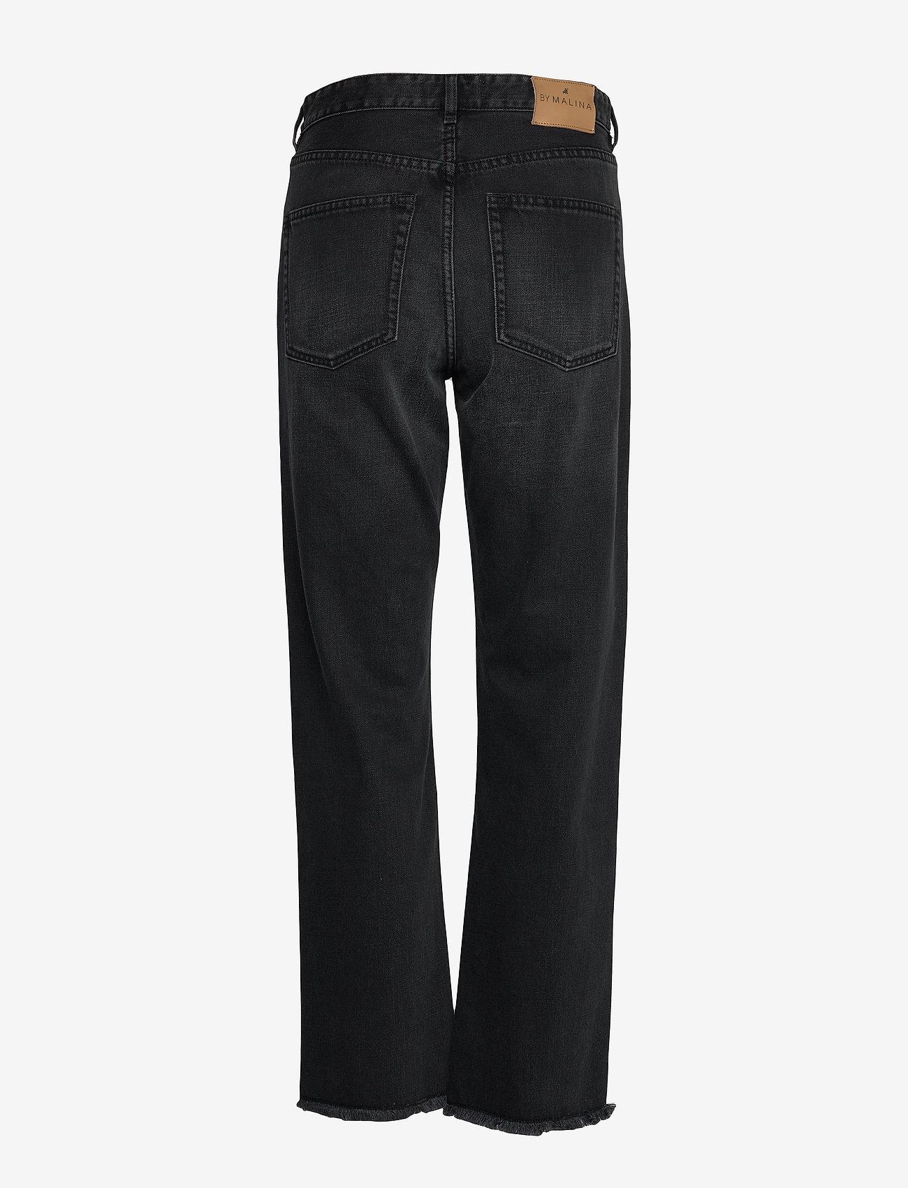 By Malina - Alexa jeans - straight regular - black - 2