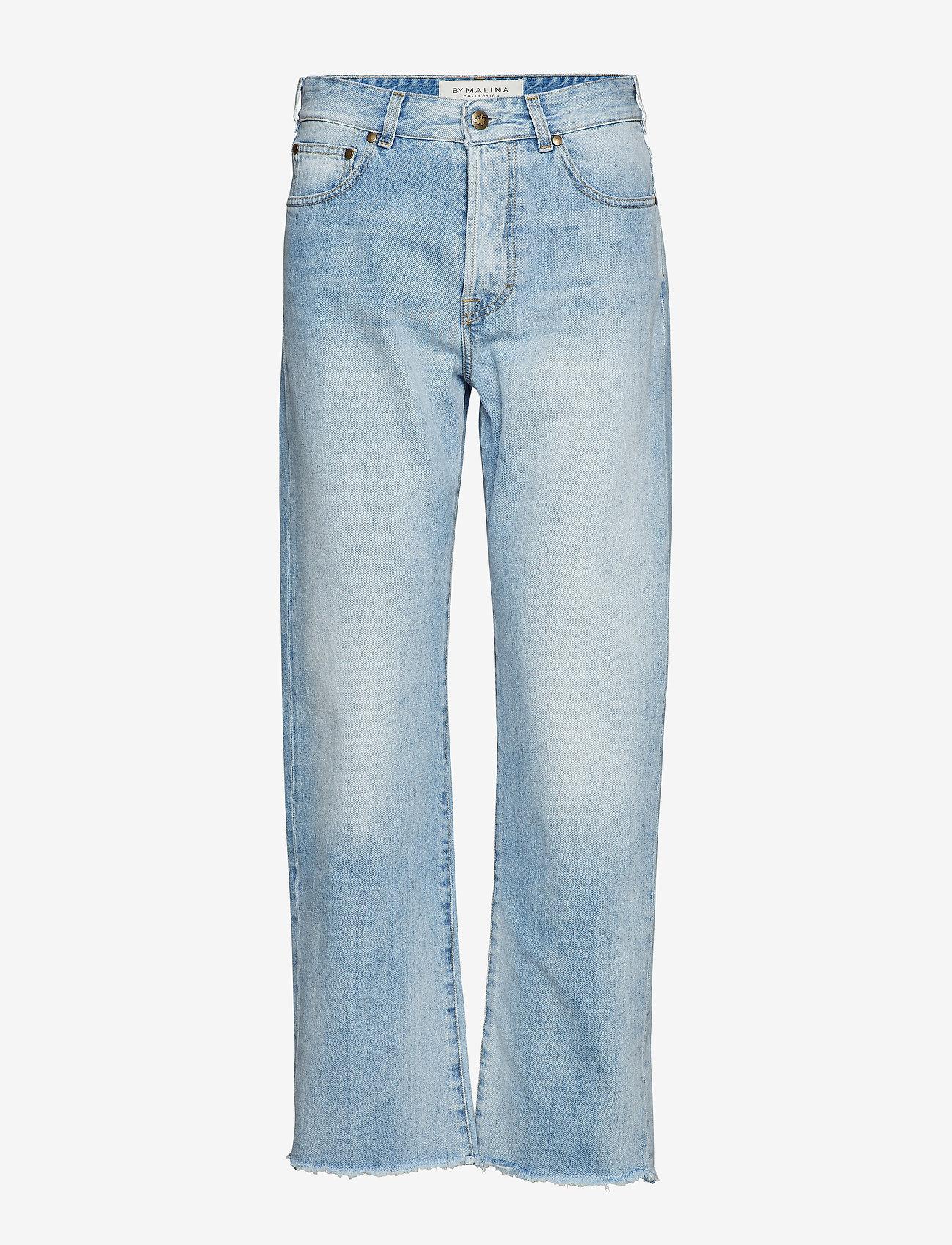 By Malina - Alexa jeans - straight regular - light blue wash - 1