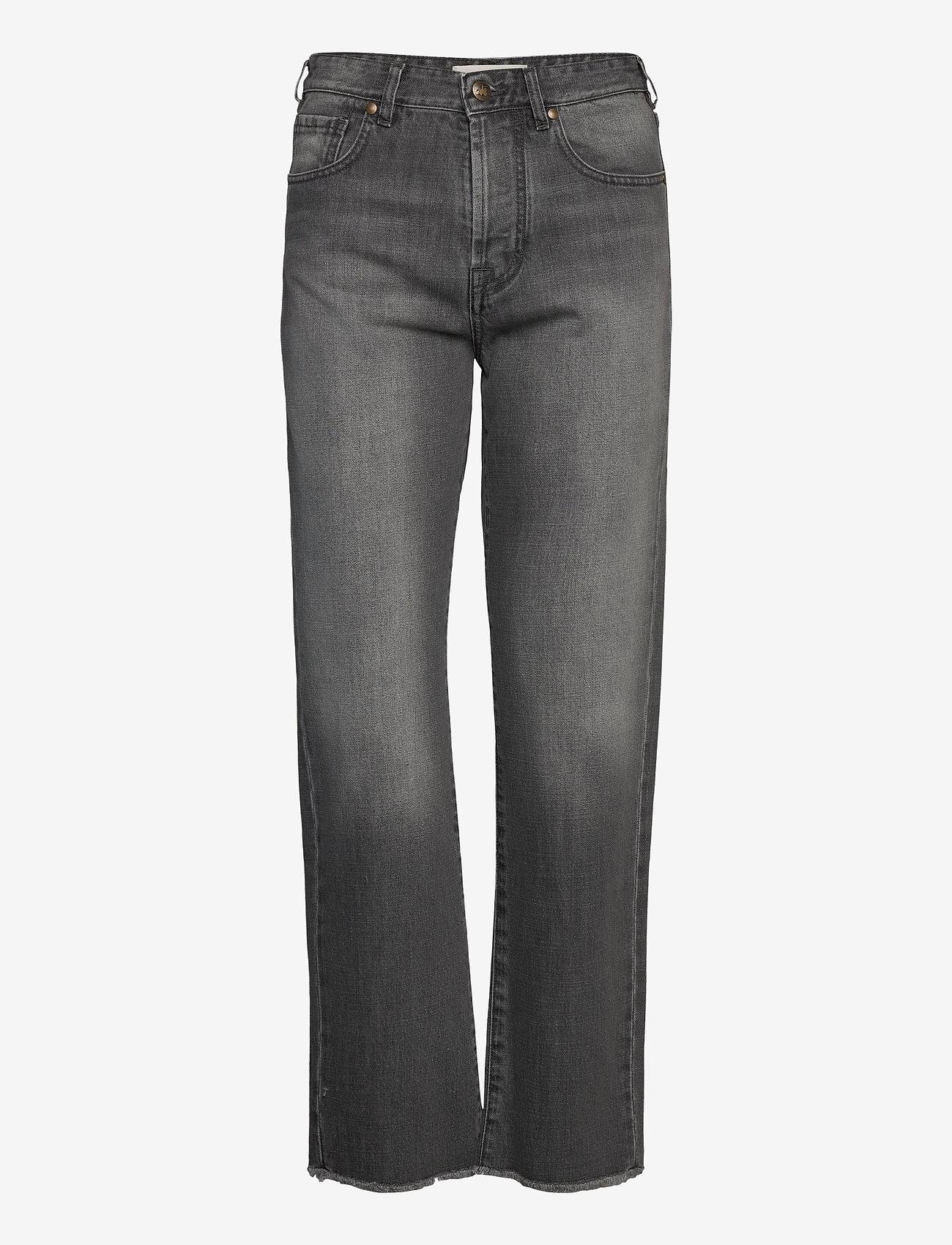 By Malina - Alexa jeans - straight regular - washed grey - 1